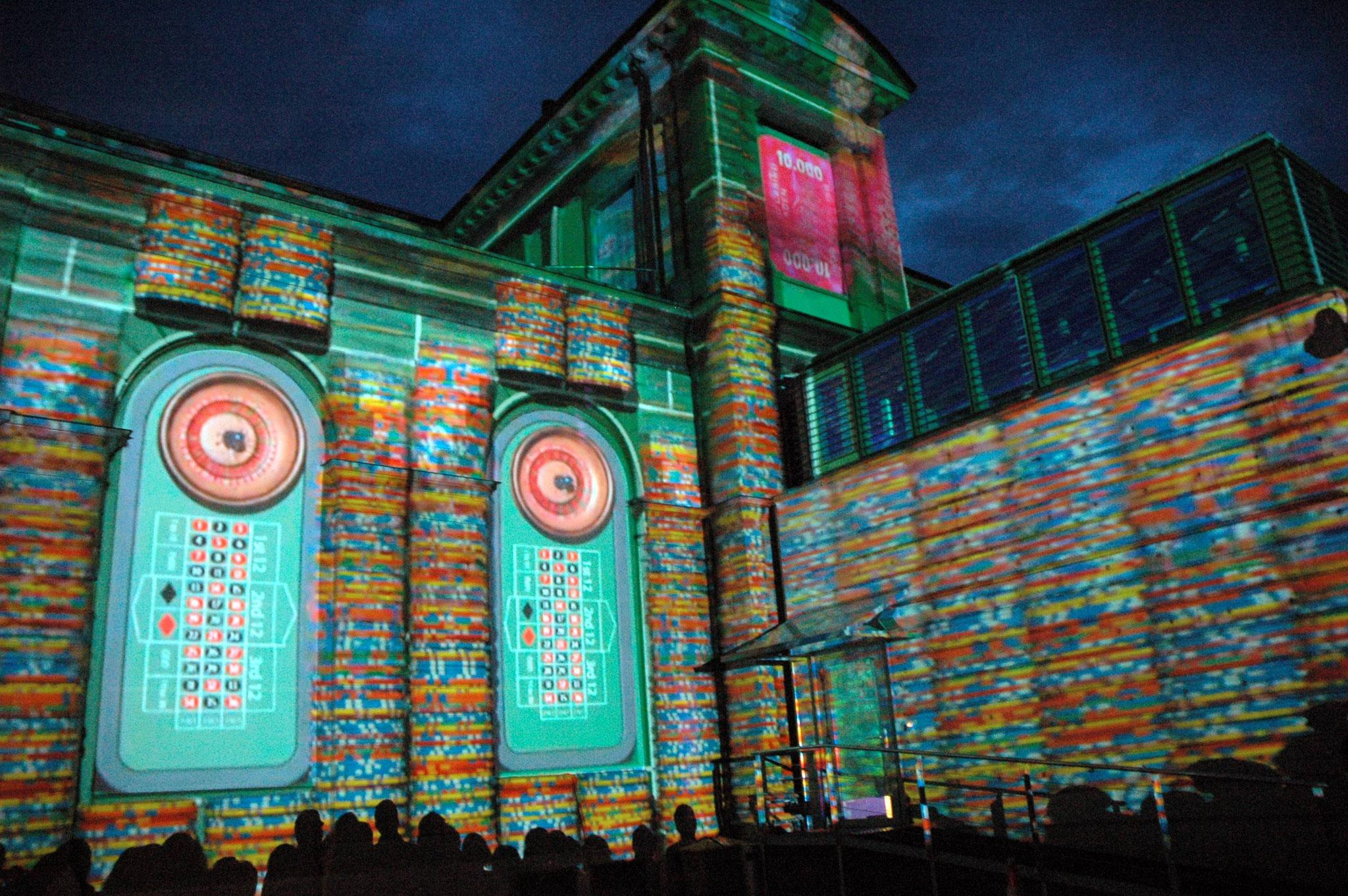 Kurhaus Baden: 3D Video Mapping - Foto: Ursula Burherr