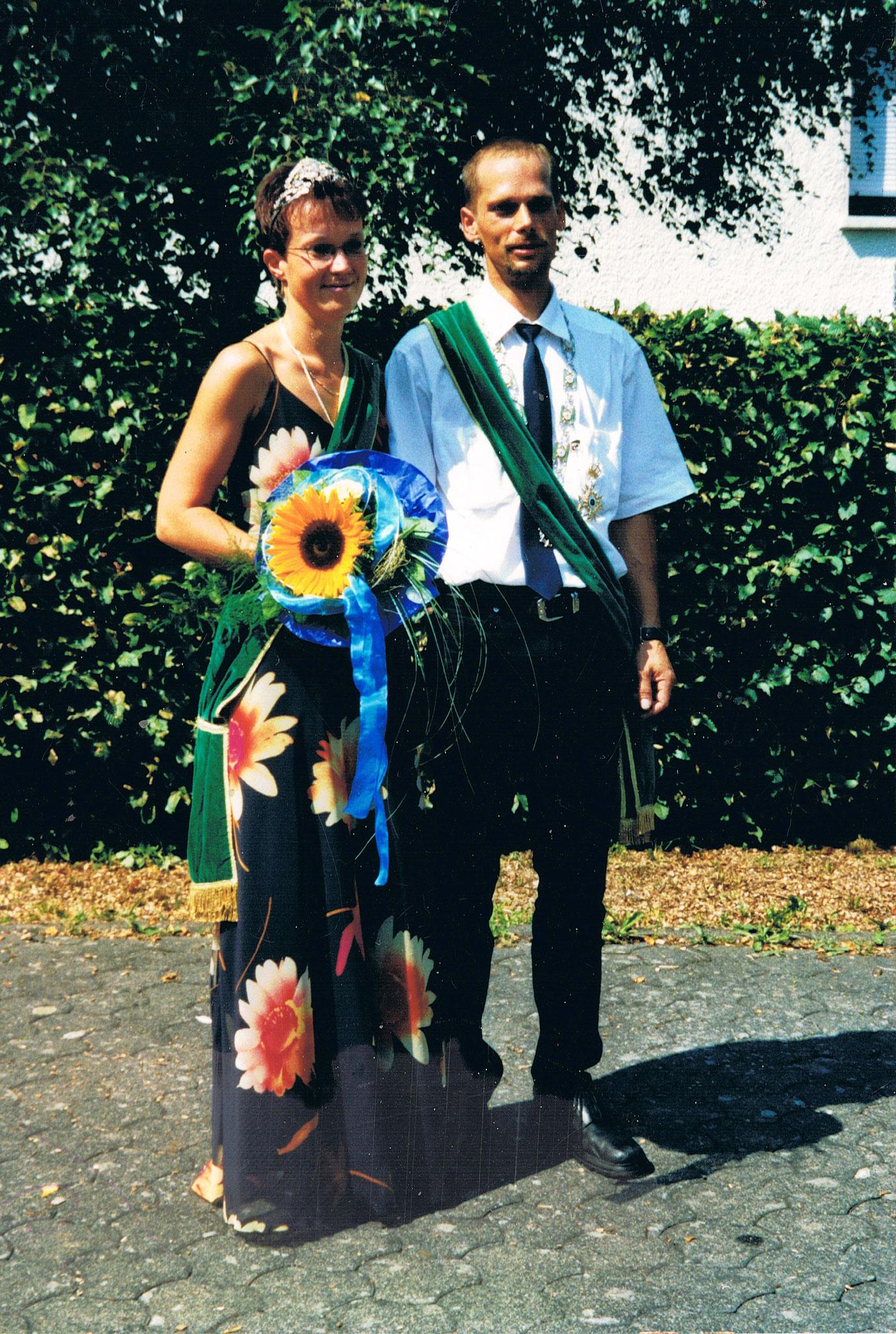 Schützenkönigspaar 2003: Volker und Jutta Schmidt