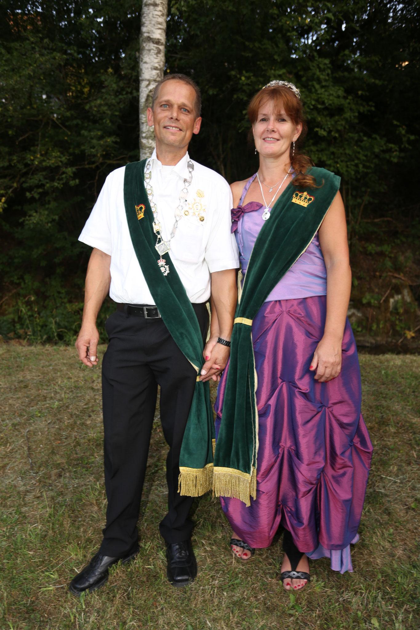 Schützenkönigspaar 2018: Volker Schmidt und Maria Schmitz
