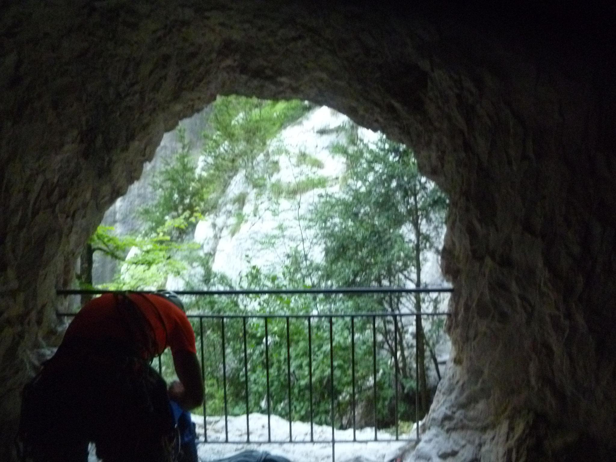 Das Ausstiegsfenster