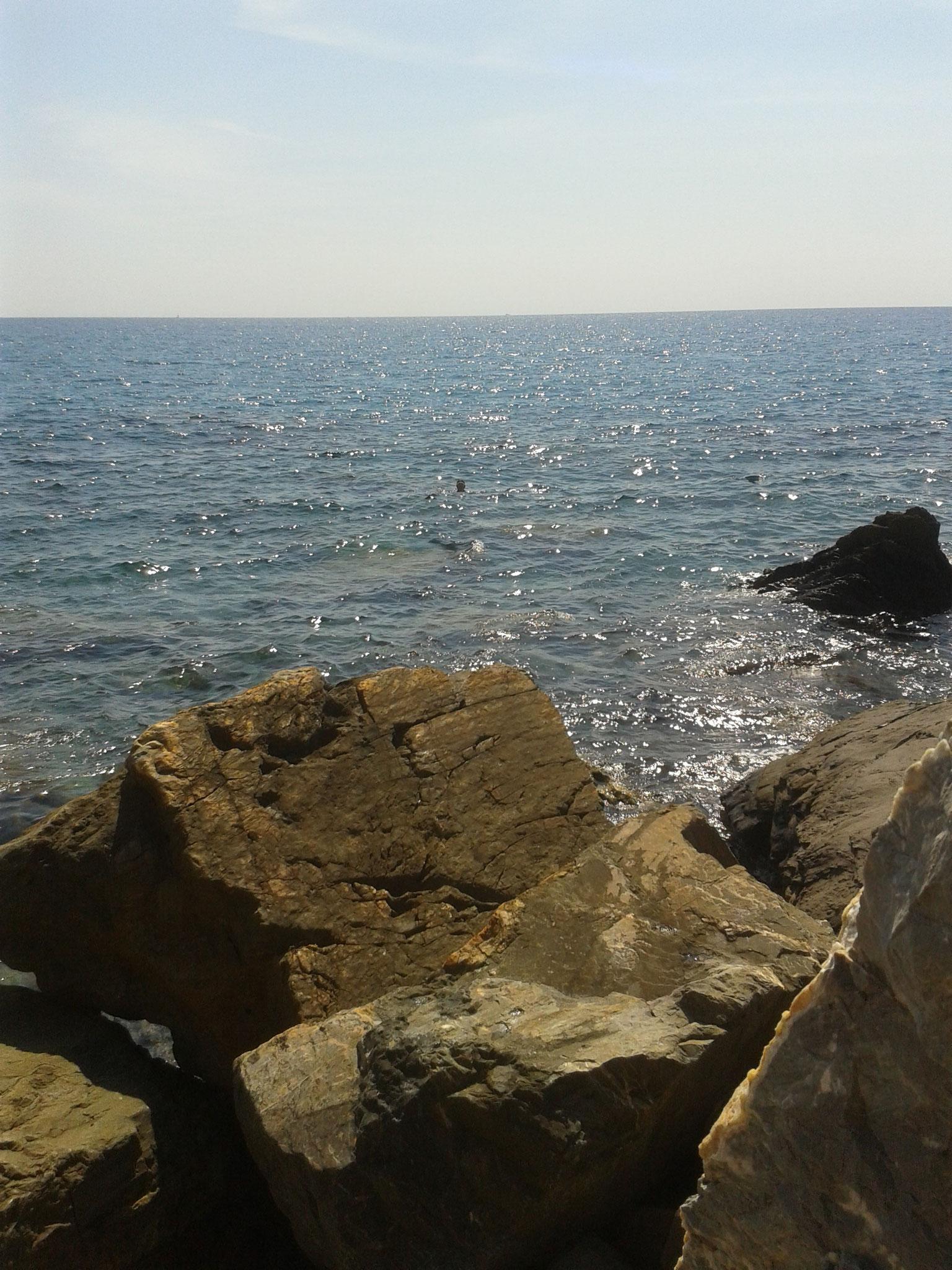 Route: ein Stopp an der ligurischen Küste macht die lange Fahrt gleich viel erträglicher