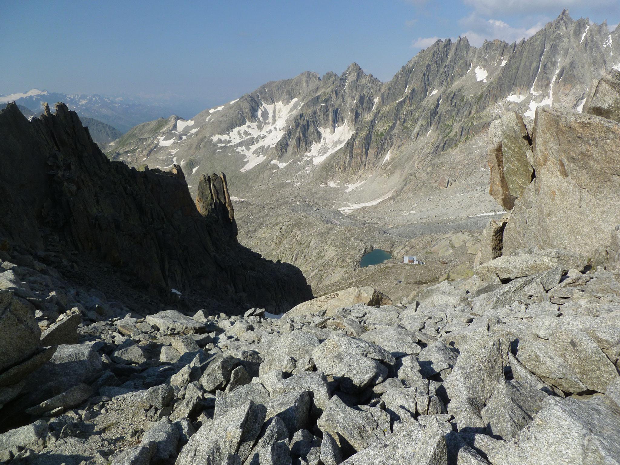 Weiter oben, mit Blick auf die Sidelenhütte