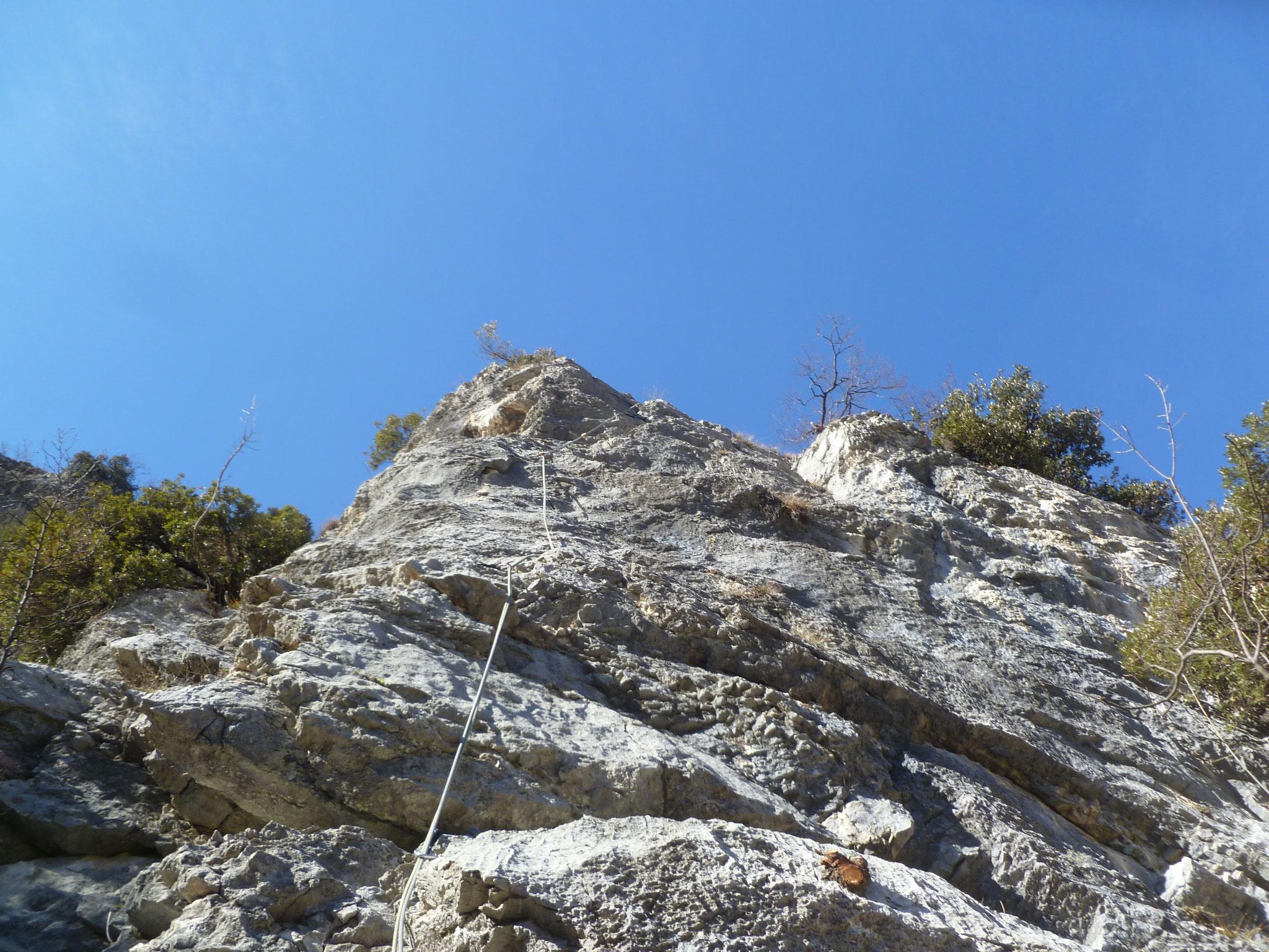 Griffig und steil in Länge 4