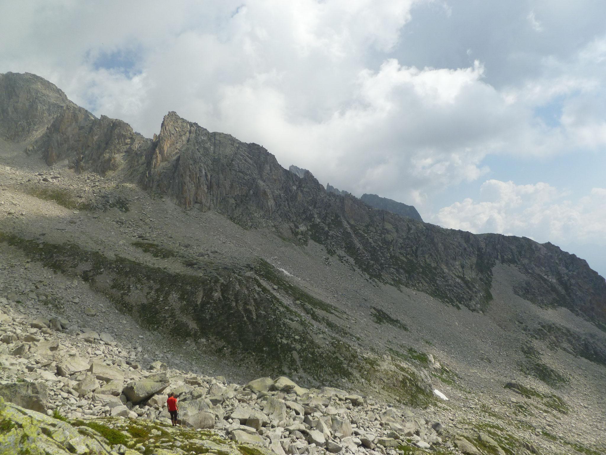 Blick auf den falschen Berg...