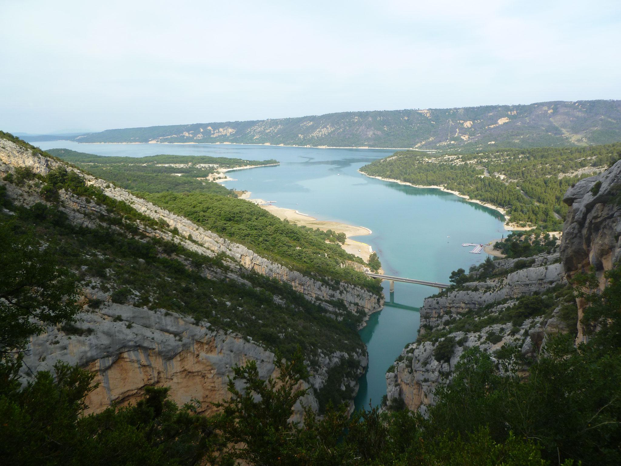 Baden: bequem im Lac du Sainte Croix...