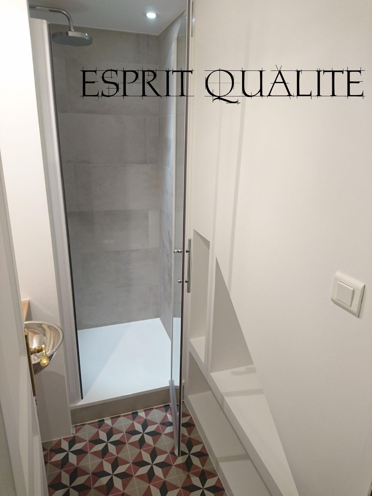 Création complète d'une salle d'eau