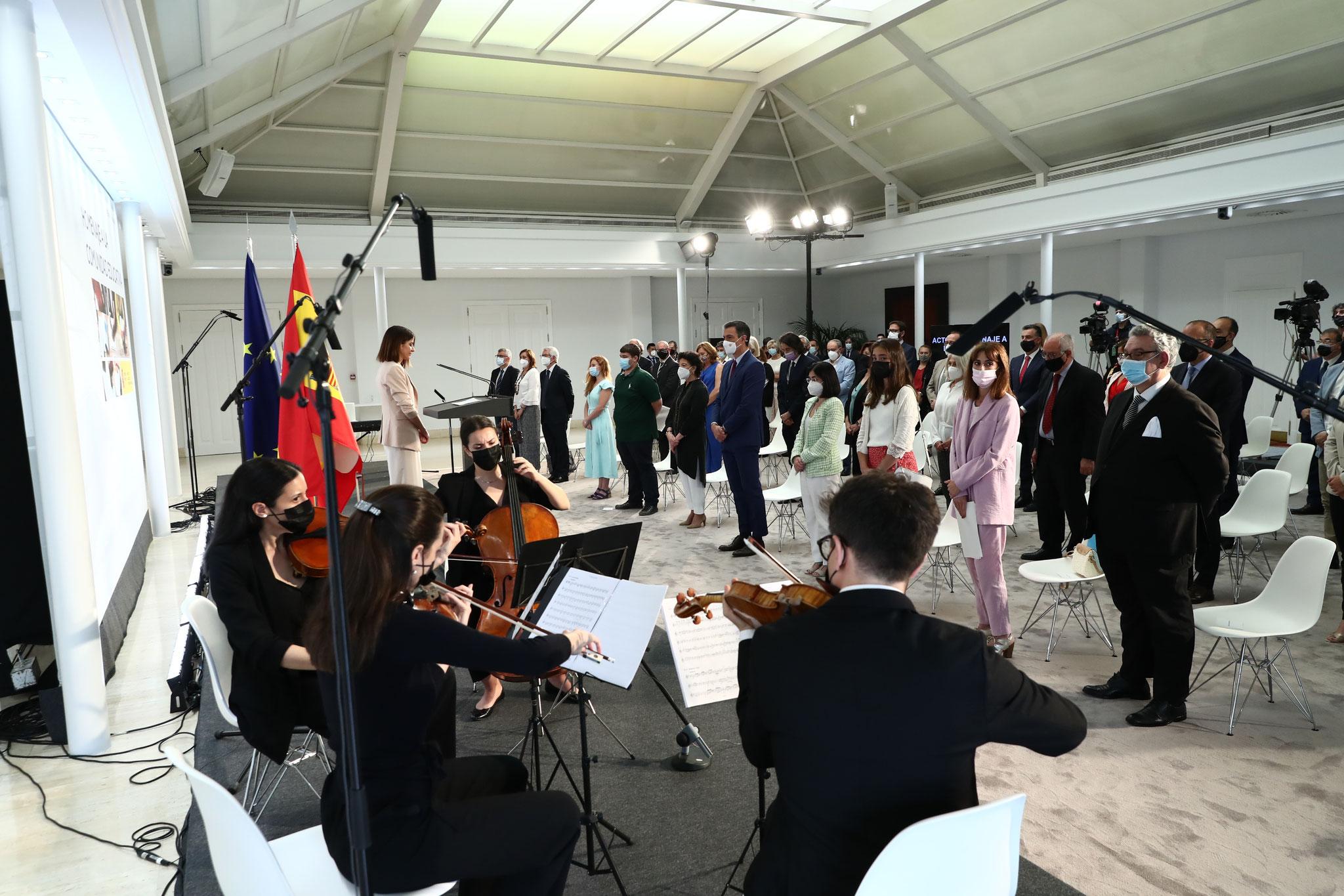Acto oficial Gobierno de España. Palacio de la Moncloa.
