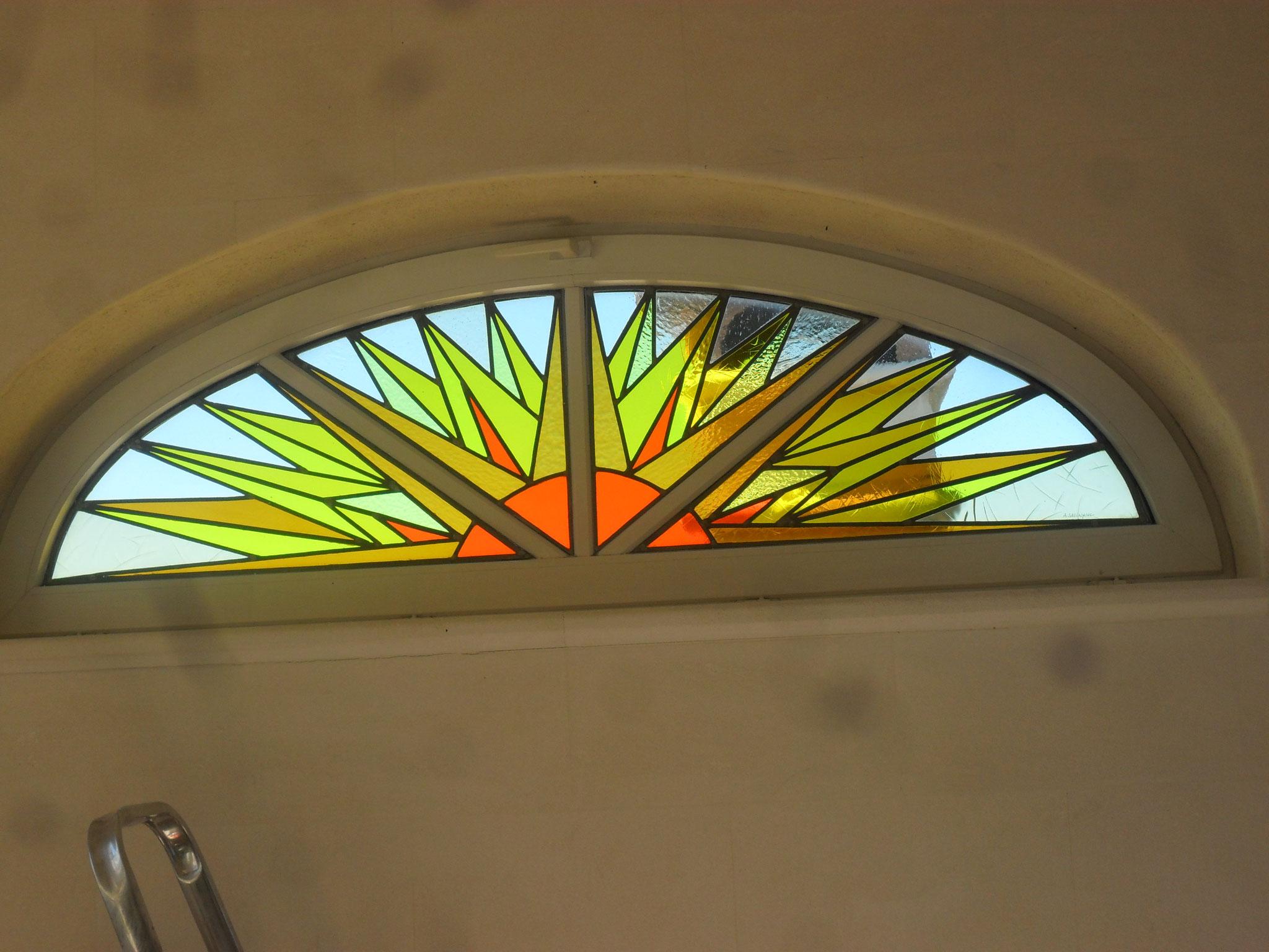 Soleil- Art du vitrail