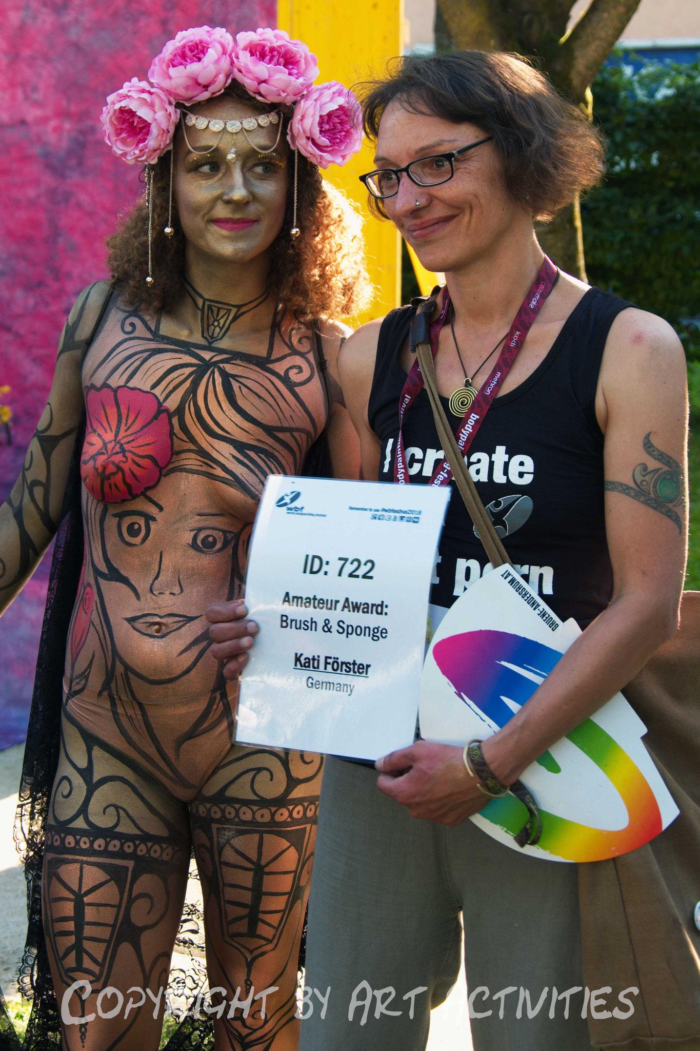 Teilnahme World Bodypainting Festival 2018, Amateur Award