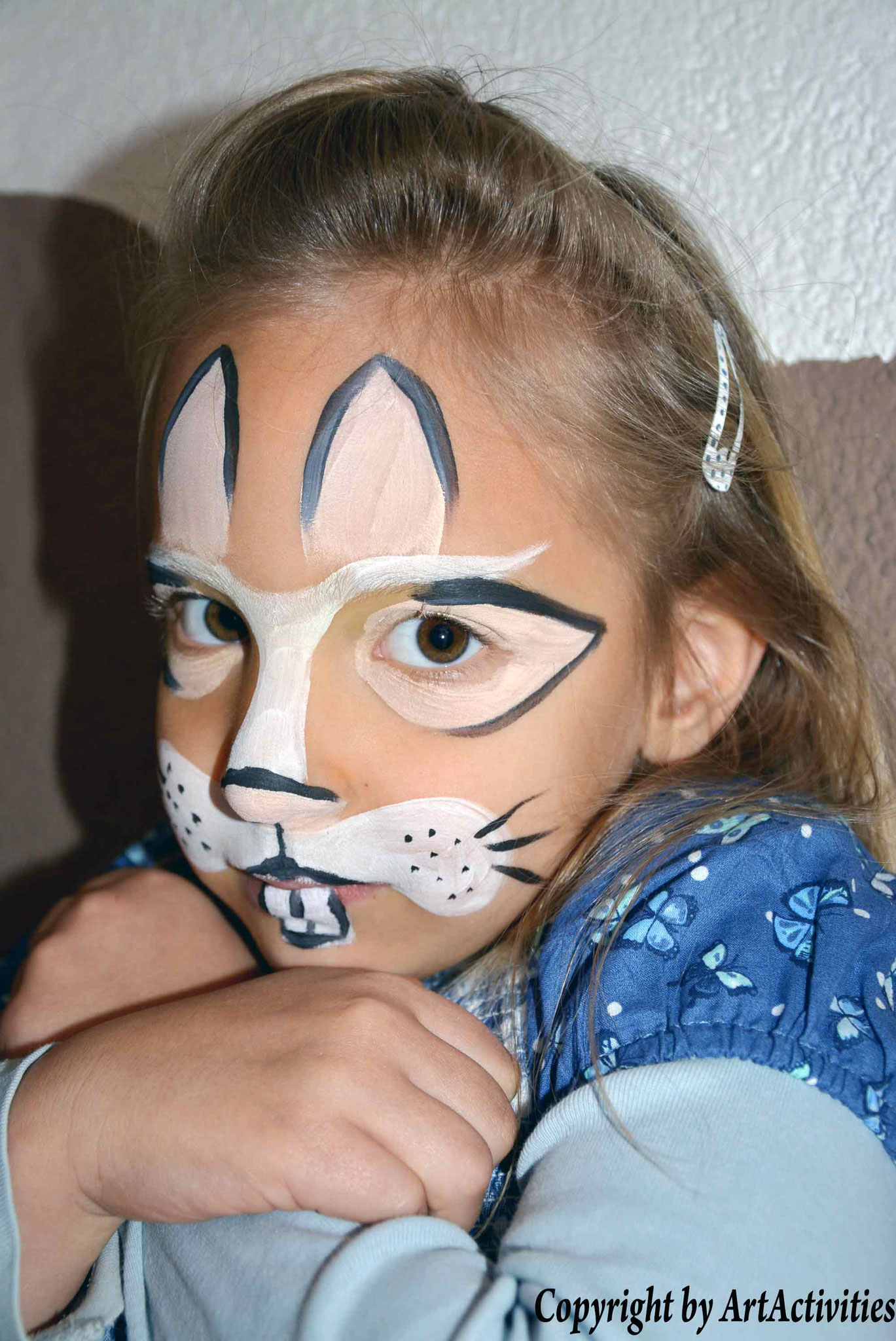 Kinderschminken/Facepainting Hase