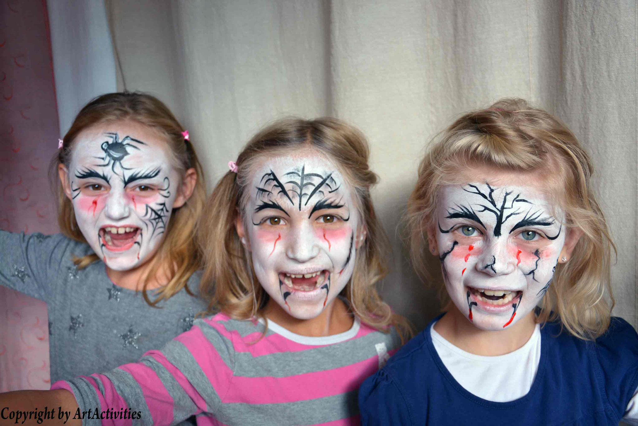 Kinderschminken/Facepainting Helloween