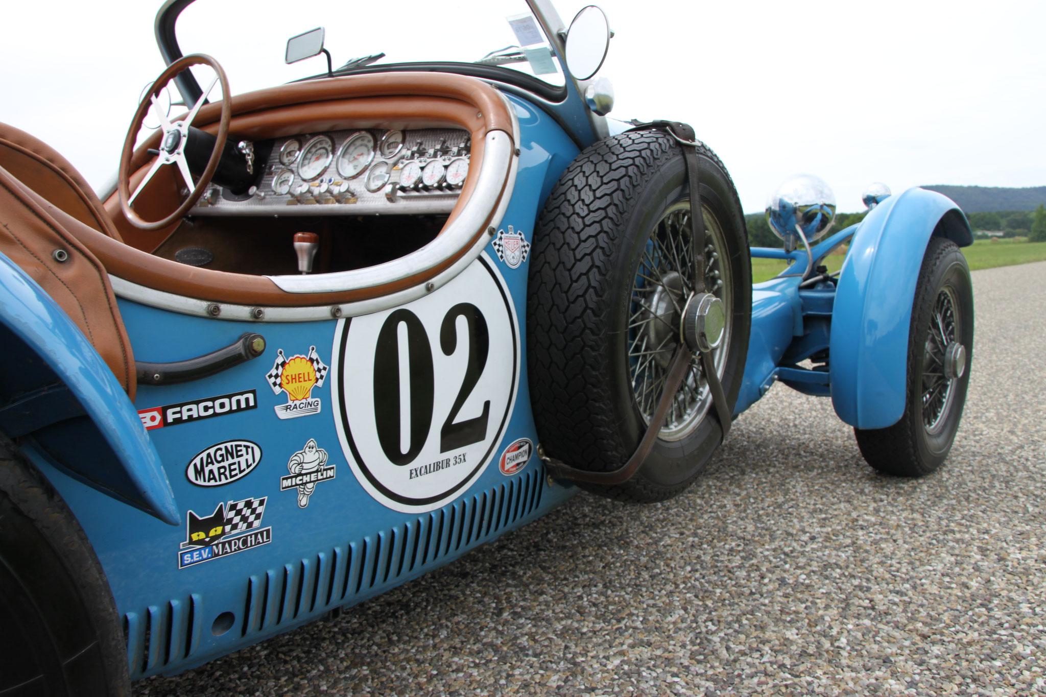 rallye vhc course vintage autocollant magnétique marquage