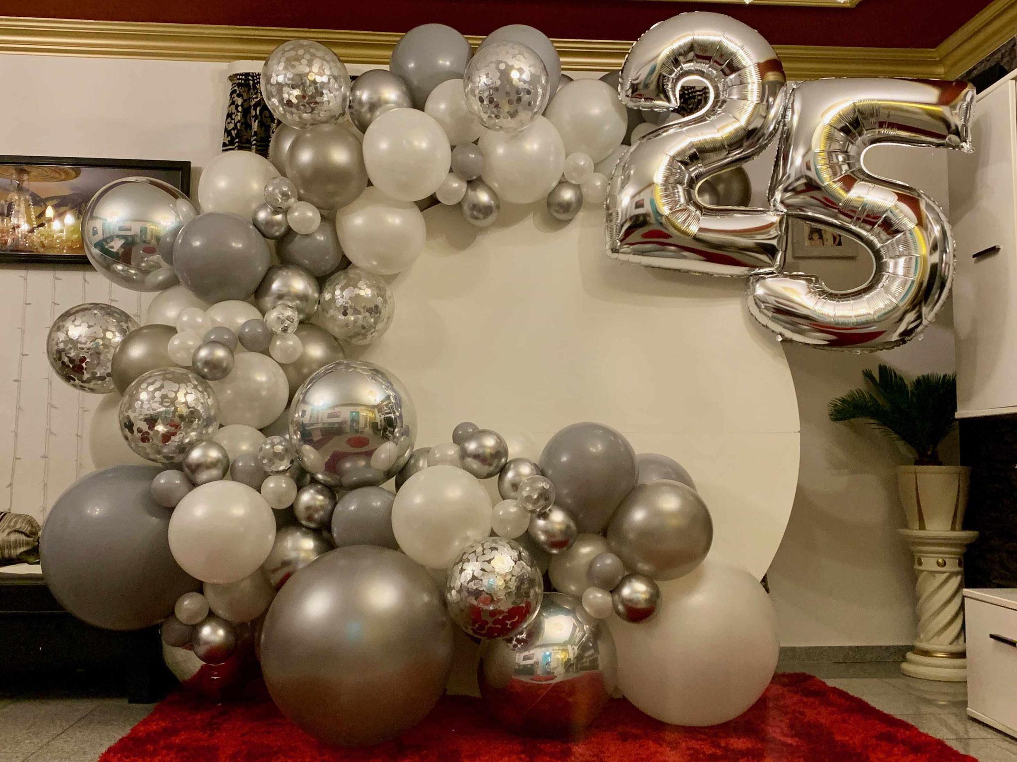 Silberhochzeit - 25 Jahre verheiratet