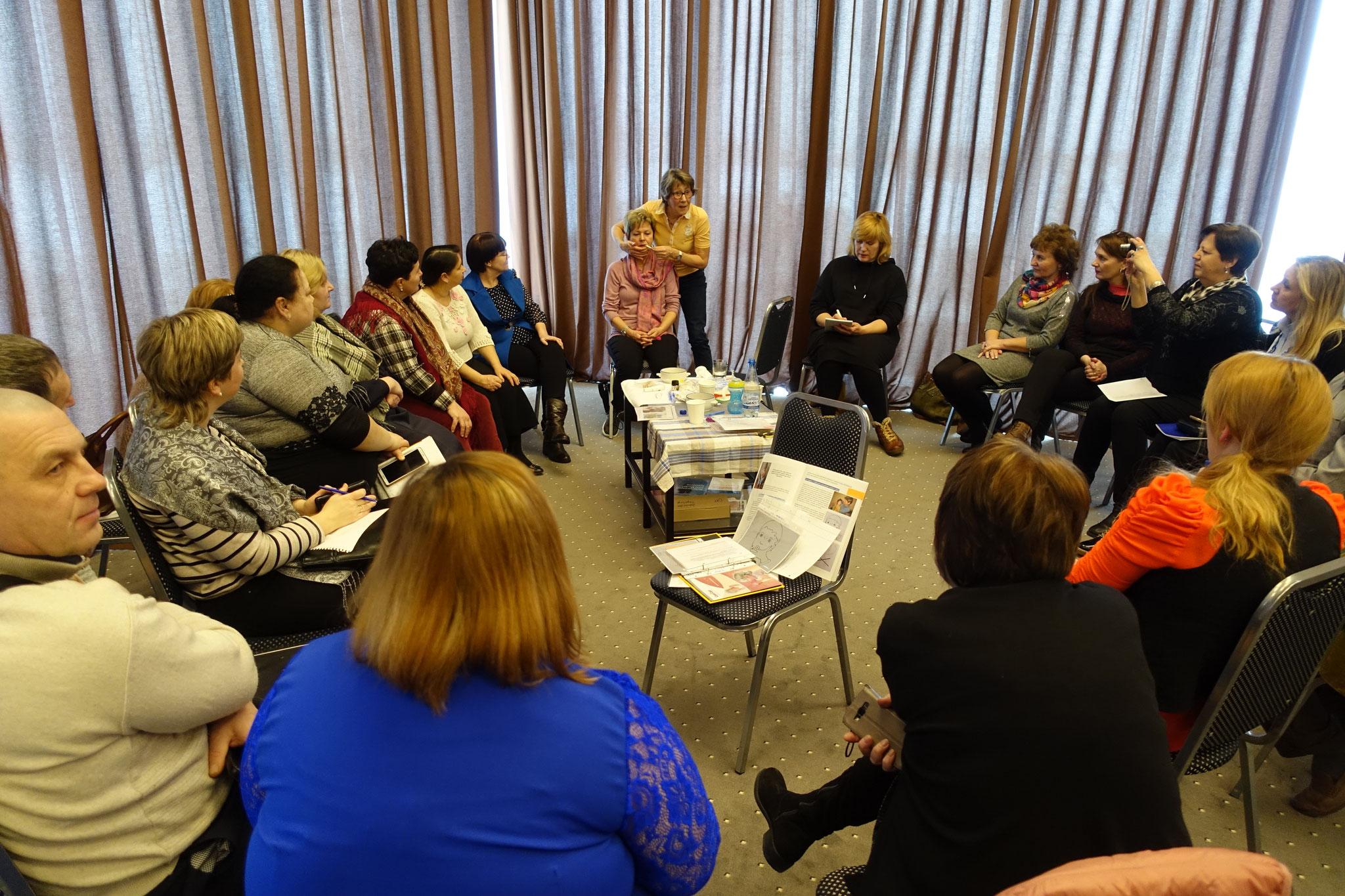 Workshop mit Christiane Seiler