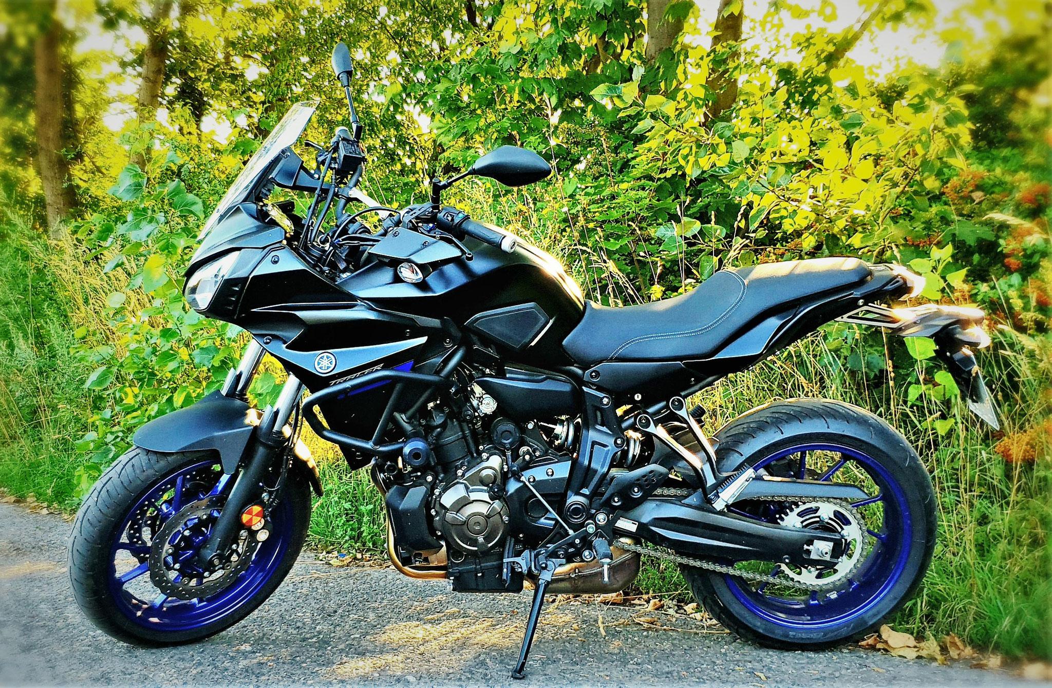 Yamaha MT07 Tracer für die Klasse A