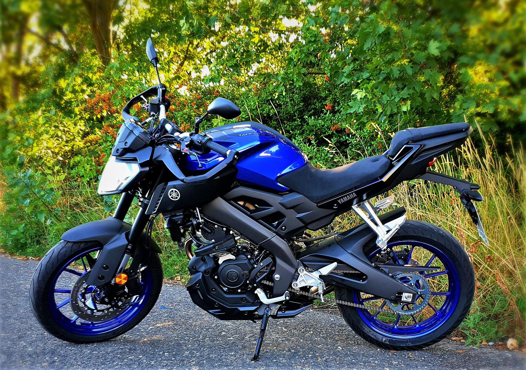 Yamaha MT125 für die Klasse A1