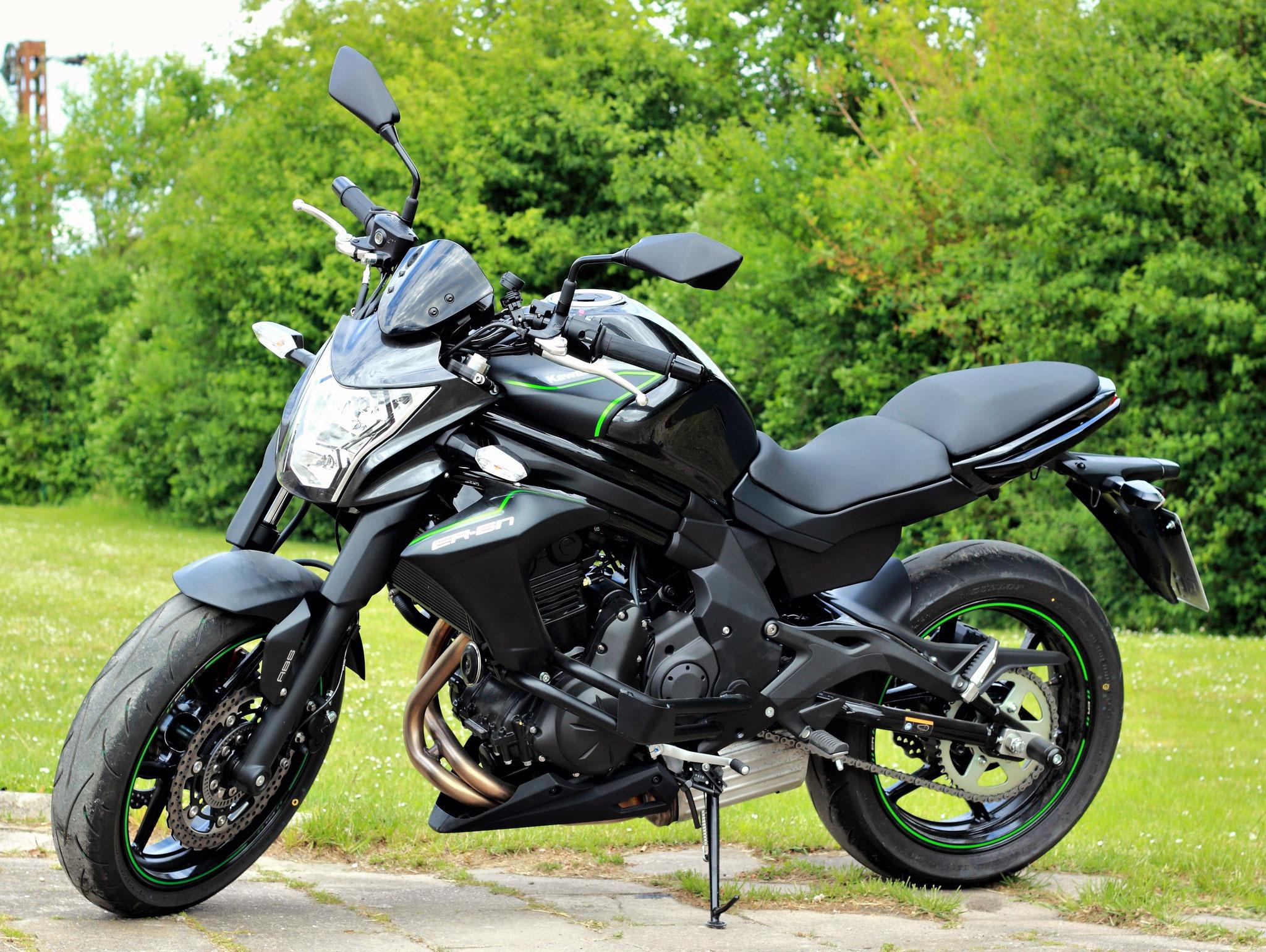 Kawasaki ER 6N für die Klasse A2