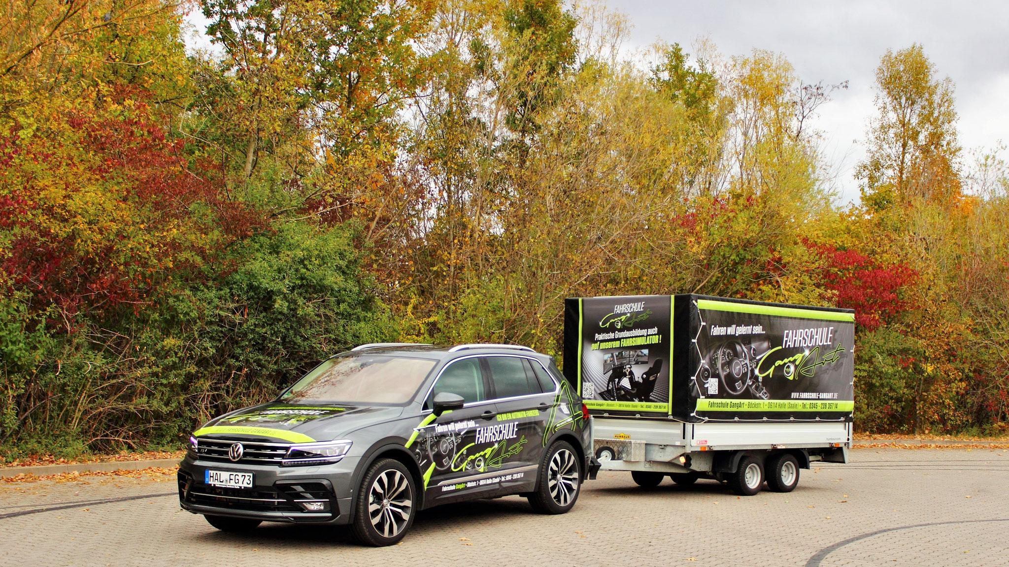 VW Tiguan (Automatik) & Anhänger für die BE-Ausbildung