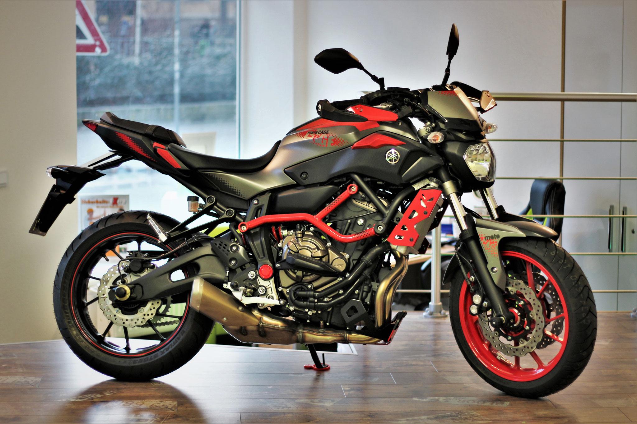 Yamaha MT07 für die Klasse A