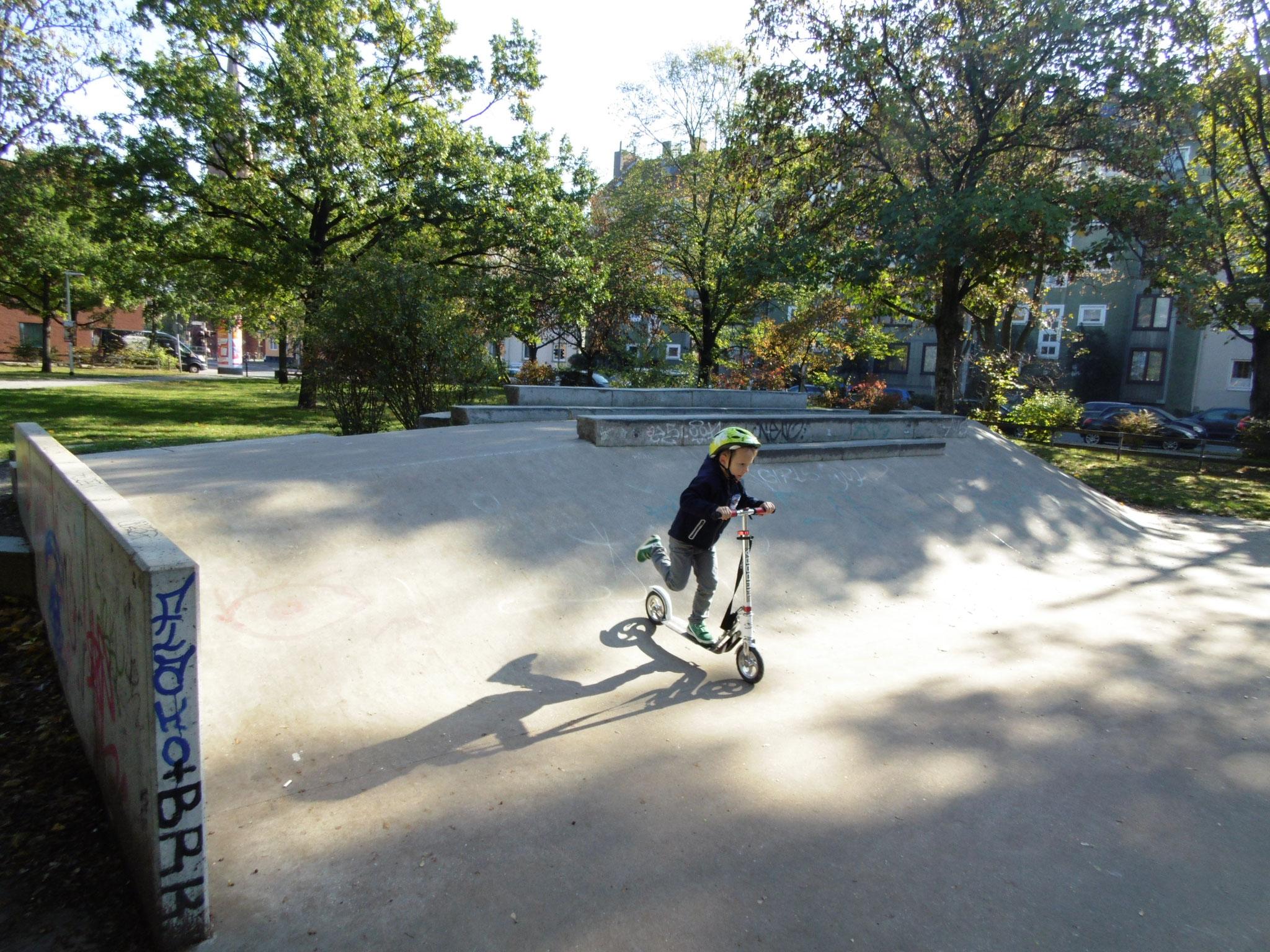 Skaten am Welfenplatz