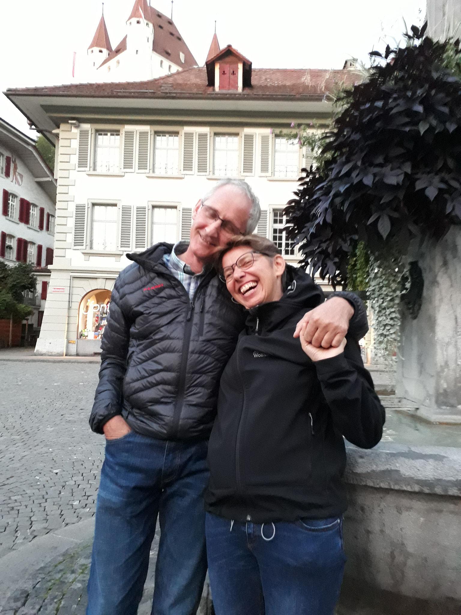 SM Thun 2018 Corsin D. und Yvonne freuen sich, dabei zu sein!