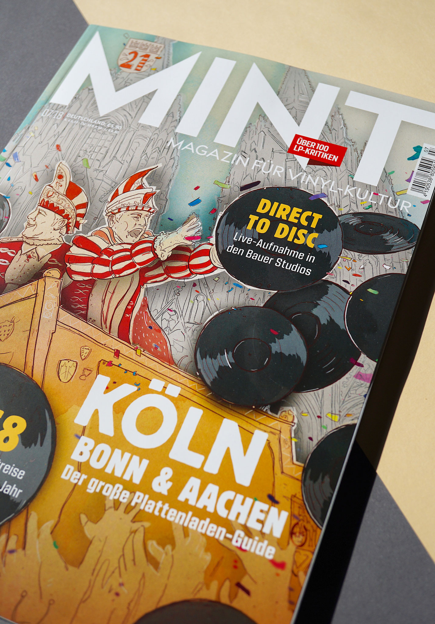 Sascha Düvel Illustration - Editorial Illustrator Münster für Mint Magazin