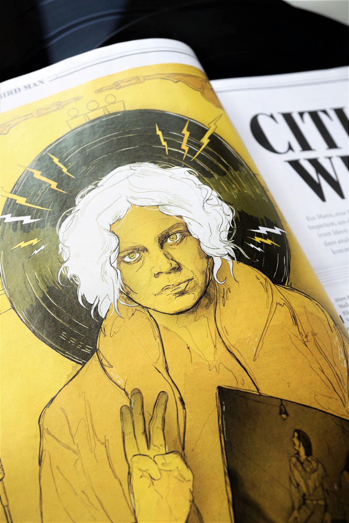 Sascha Düvel Illustration - Editorial Illustrator Münster für Mint Magazin