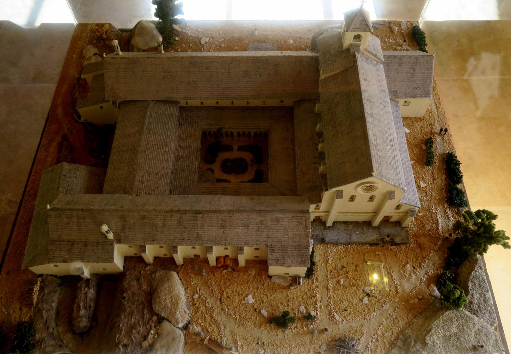 Bild: Modelle der Abbaye Notre-Dame de Sénanque, Gordes