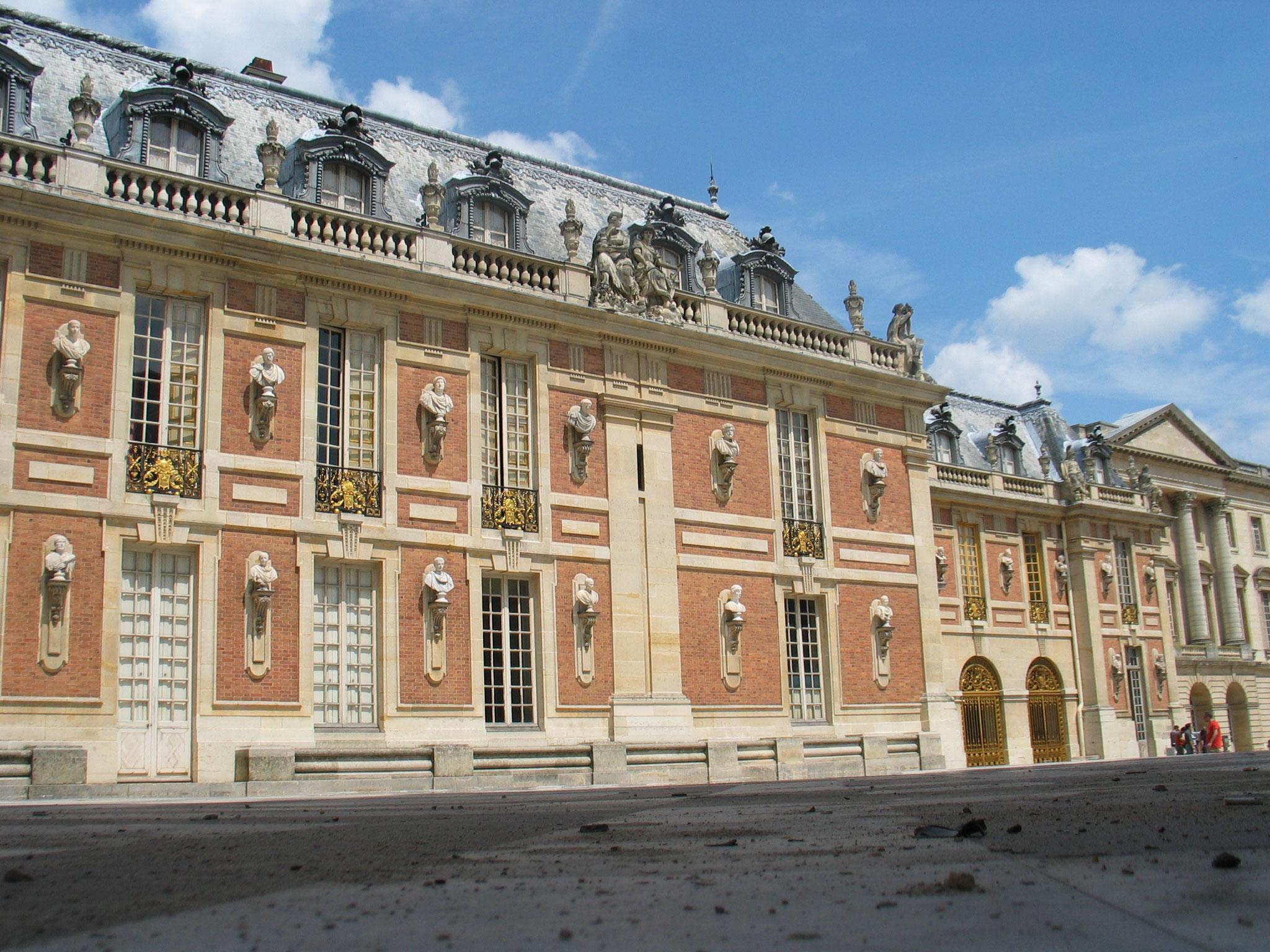 Bild: Château de Versailles mit Schlossgarten