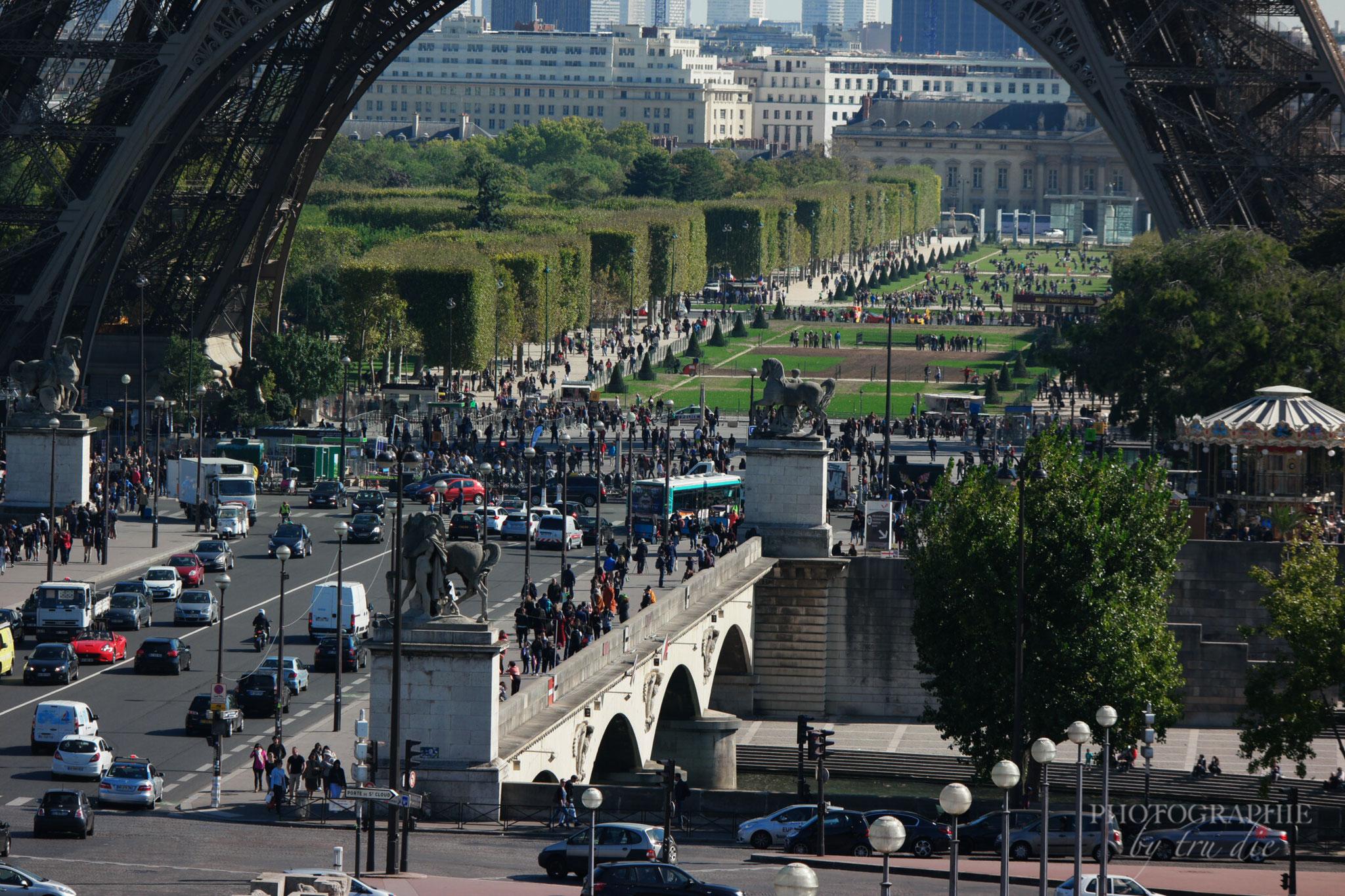 Bild: Blick Trocadéro in Paris