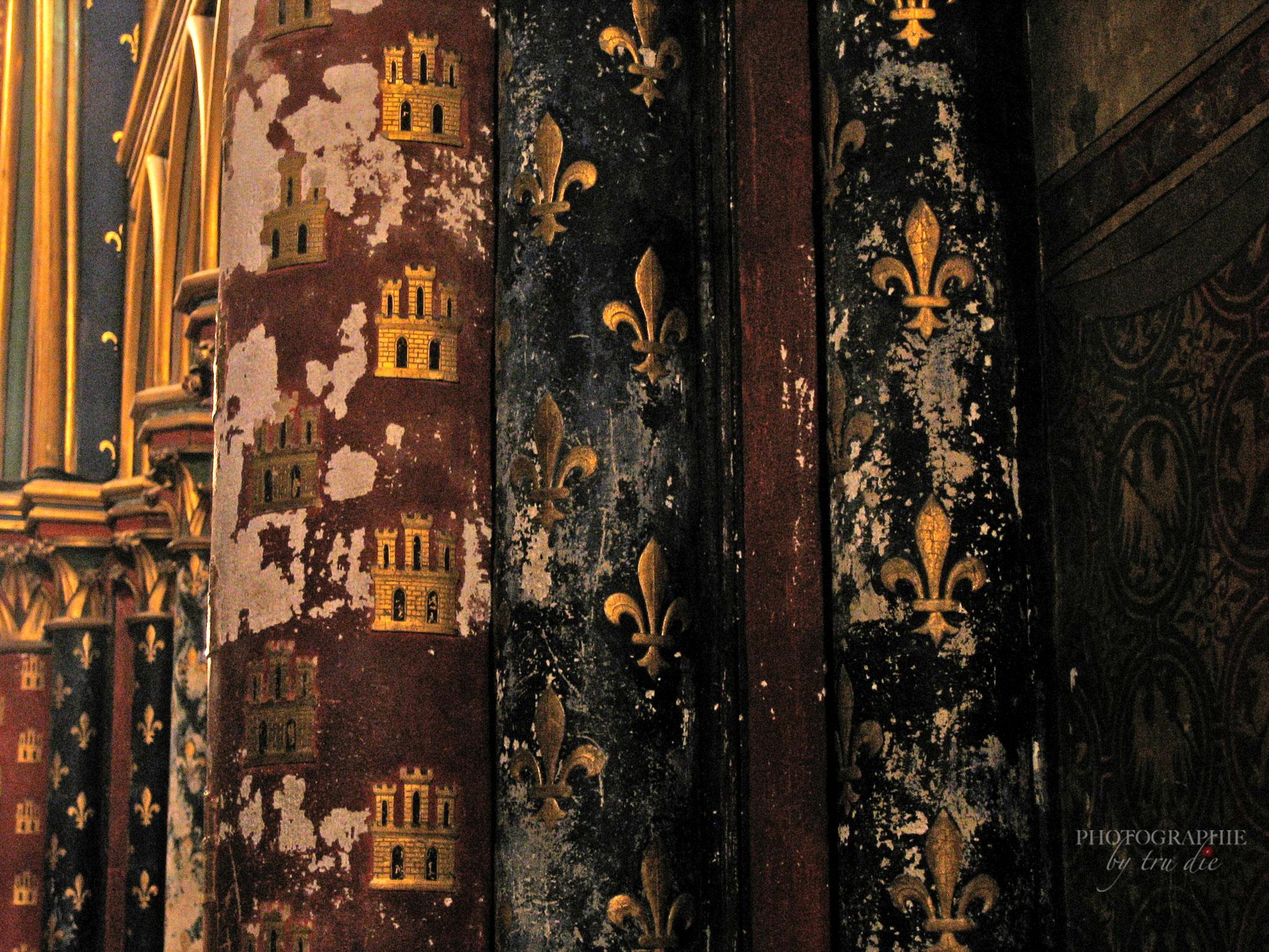 Bild: Unterkirche von Sainte-Chapelle in Paris