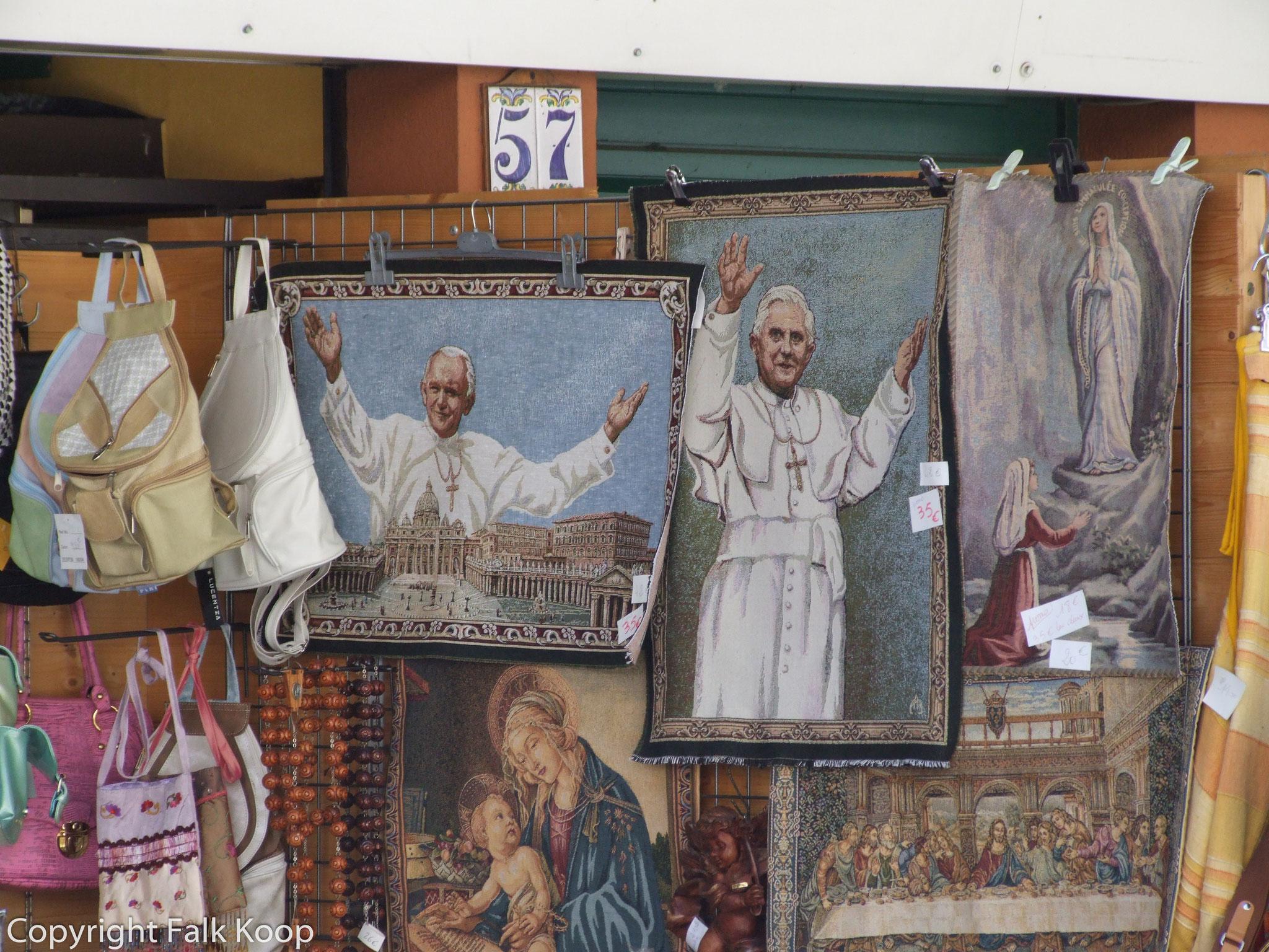 Bild: Straßen in Lourdes