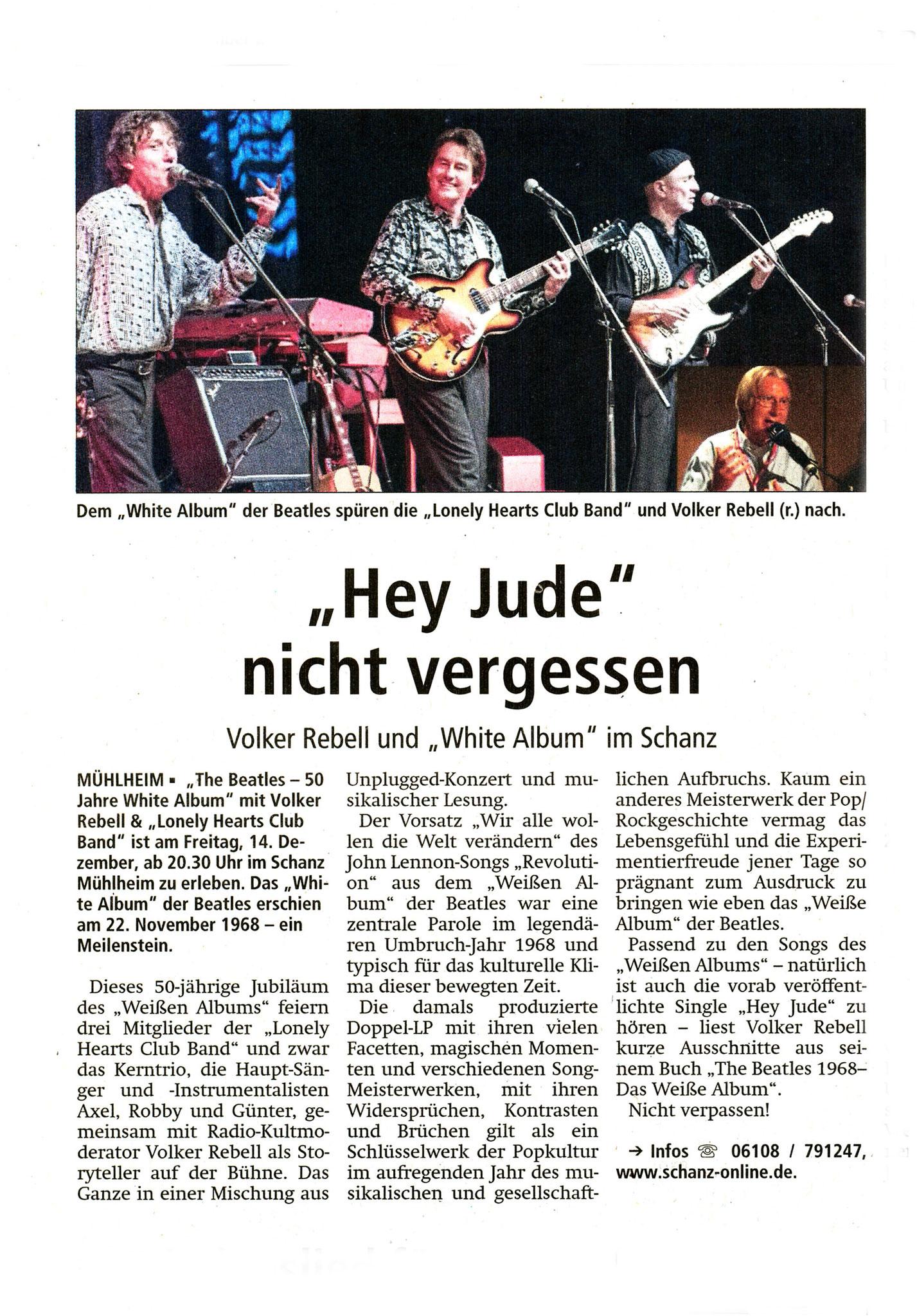 Offenbach Post, 8. Dezember 2018