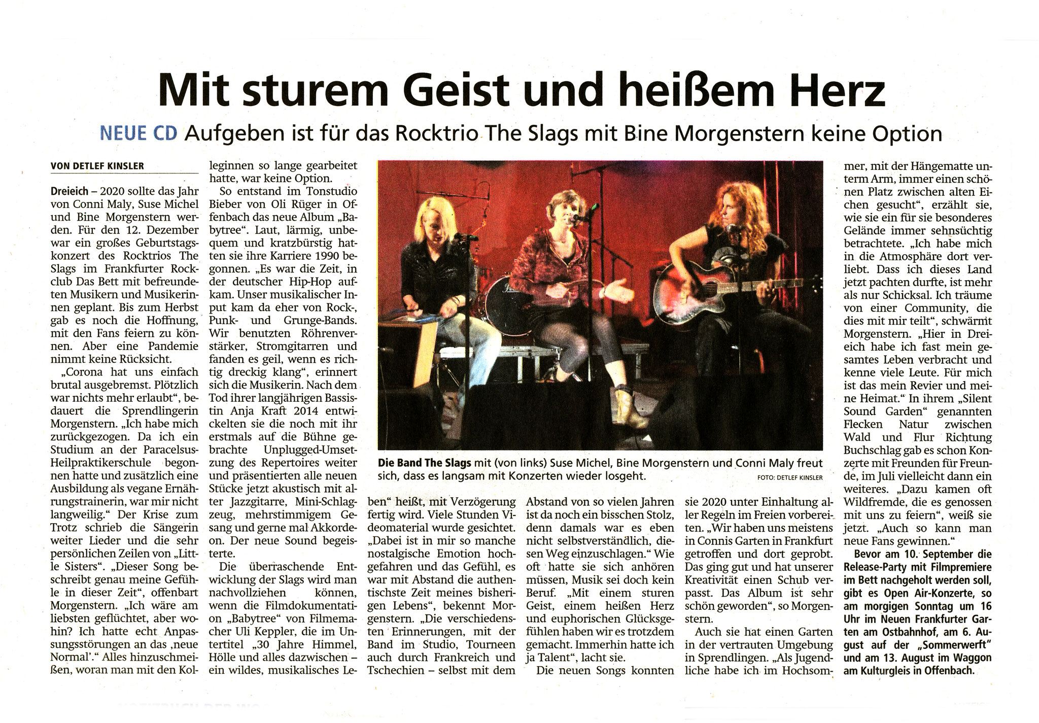 Offenbach Post, 3. Juli 2021
