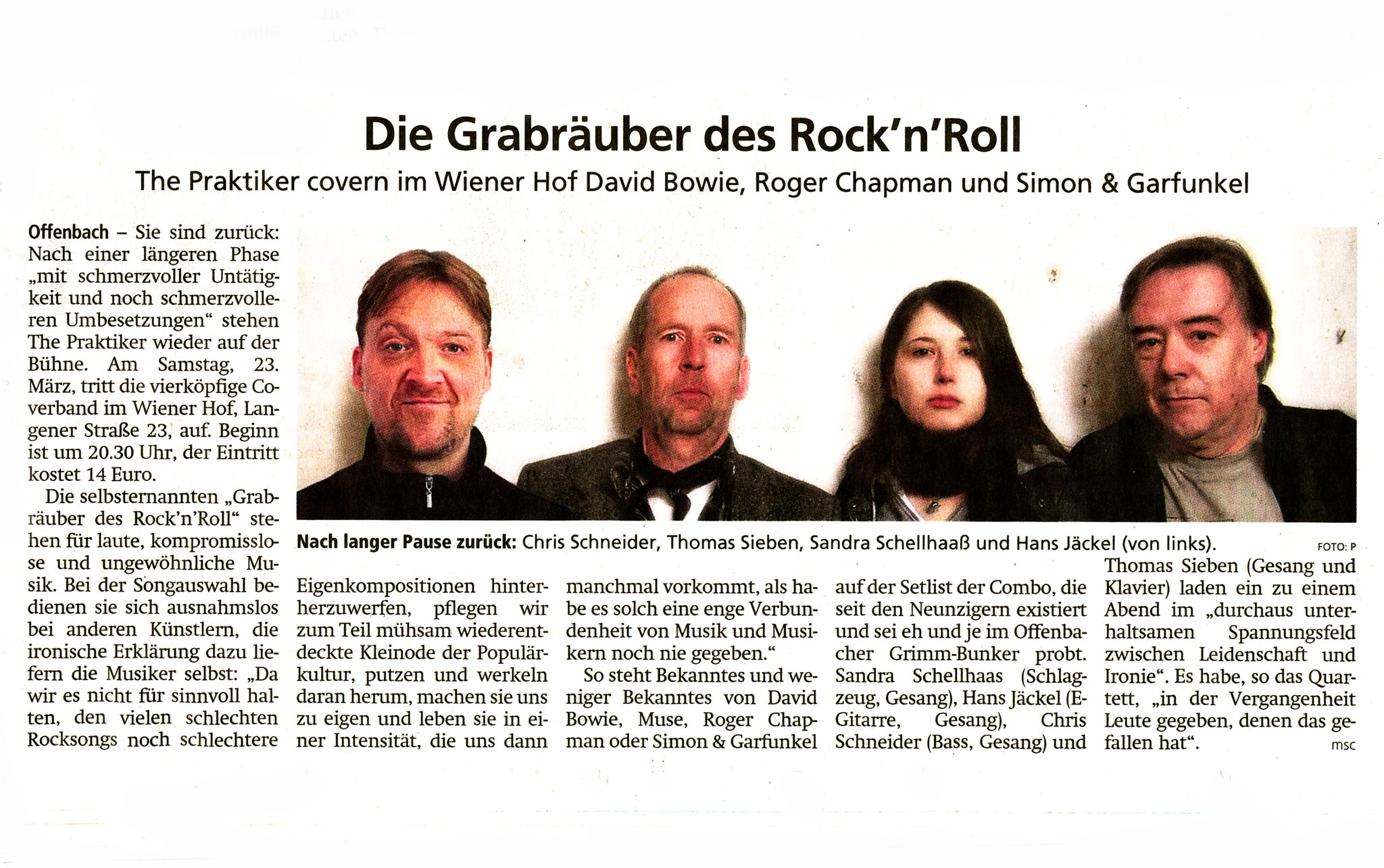 Offenbach Post, 21. März 2019