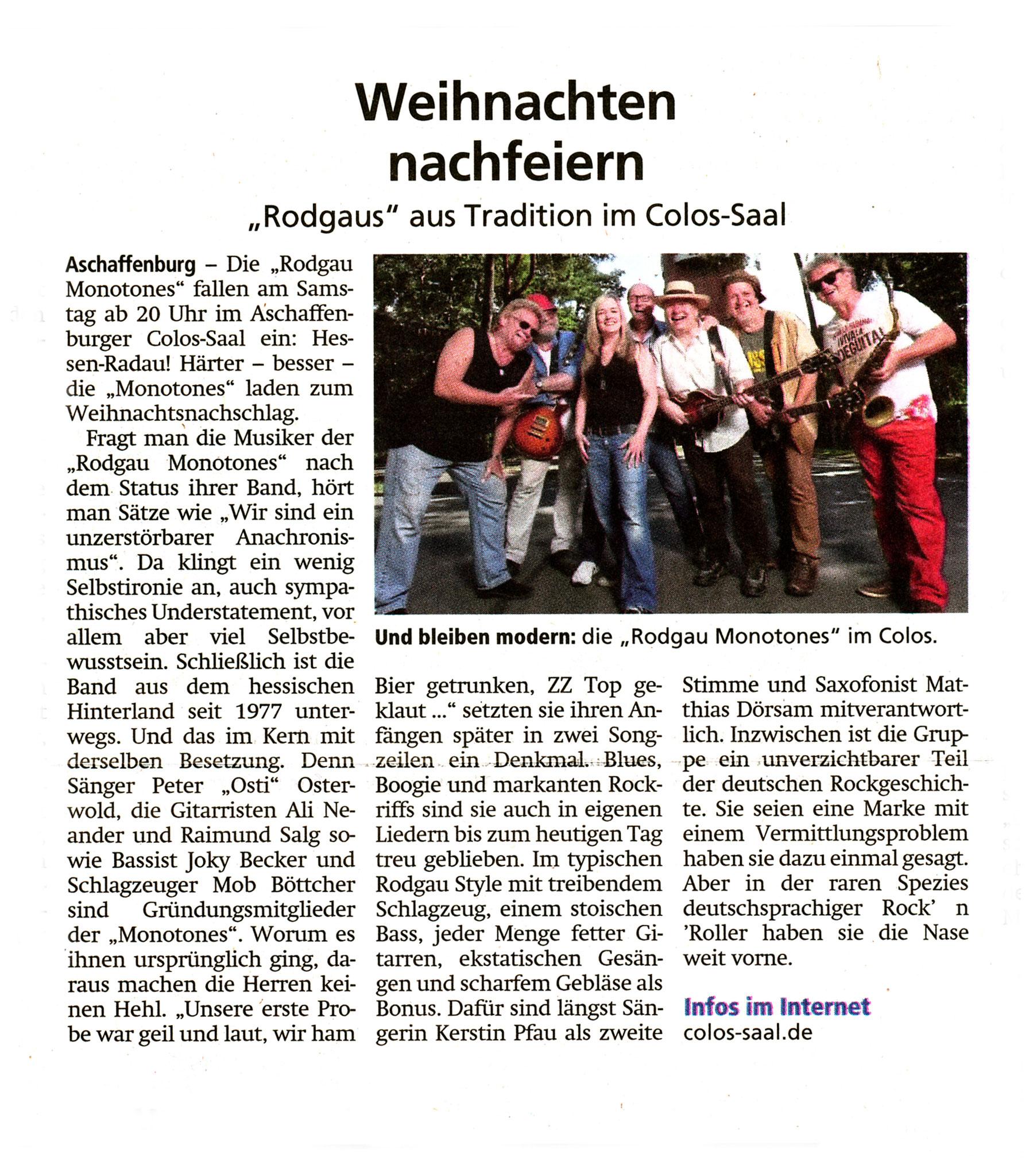 Offenbach Post, 2. März 2019