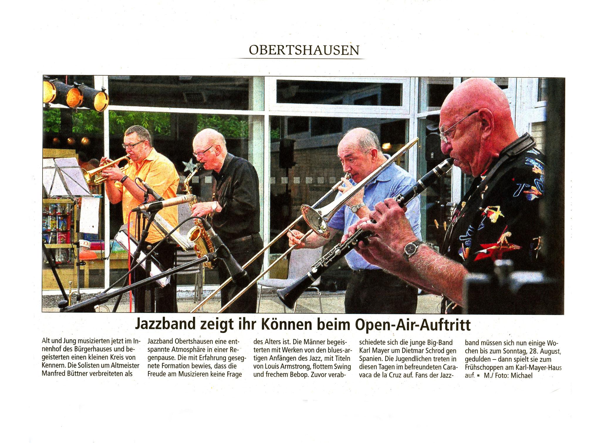 Offenbach Post, 15. Juni 2016