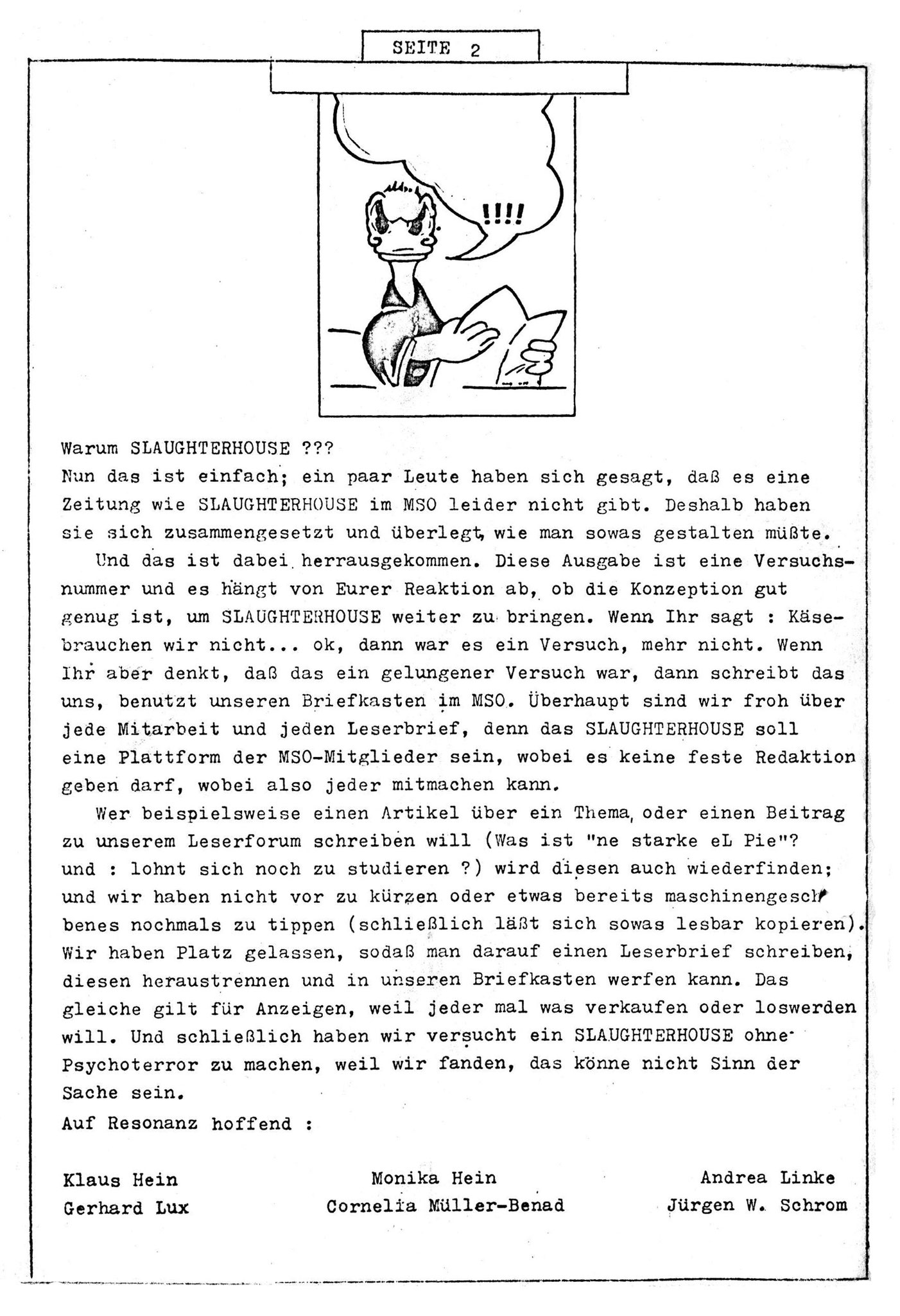 Slaughterhouse - Ausgabe 0 - Seite 2