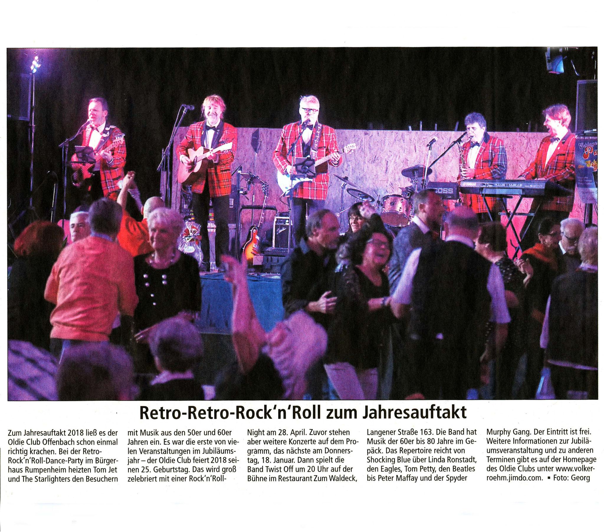 Offenbach Post, 9. Januar 2018