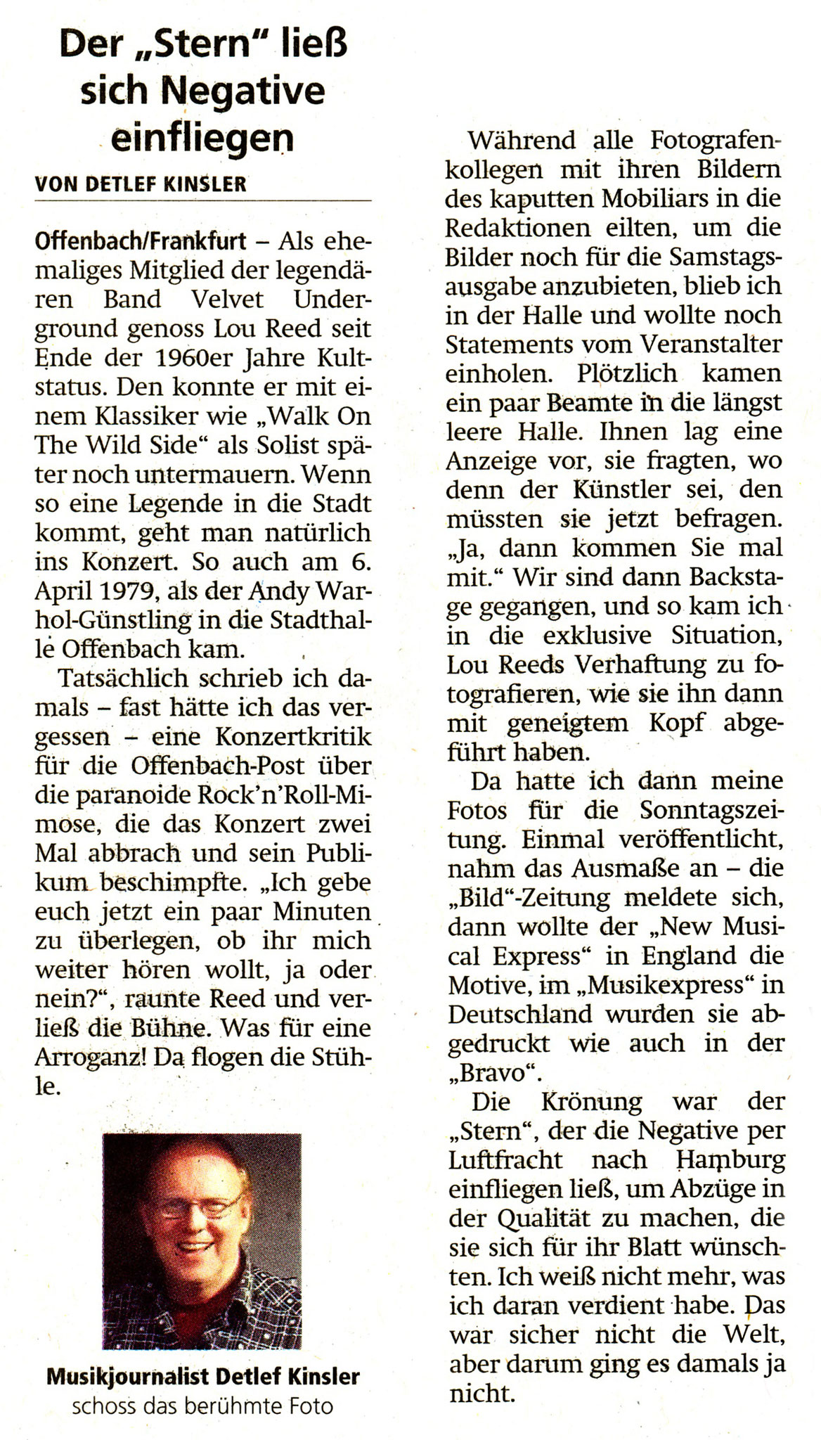 Offenbach Post, 30. Mai 2020
