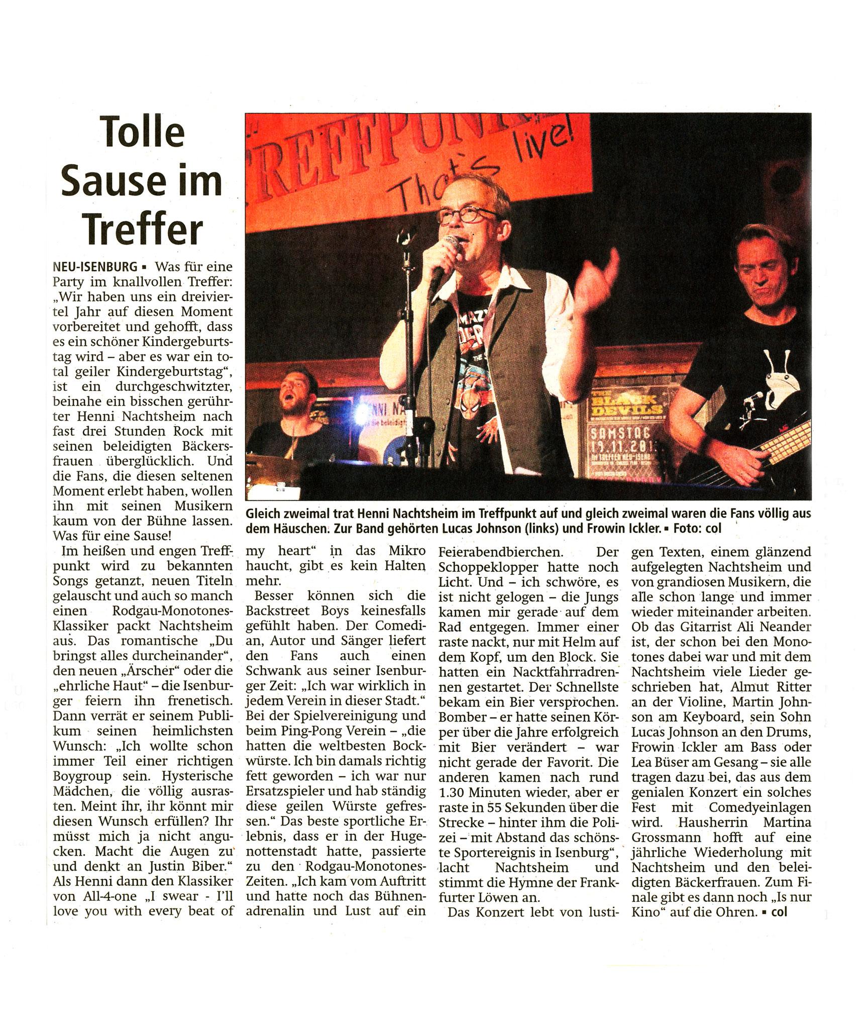 Offenbach Post, 31. Oktober 2016