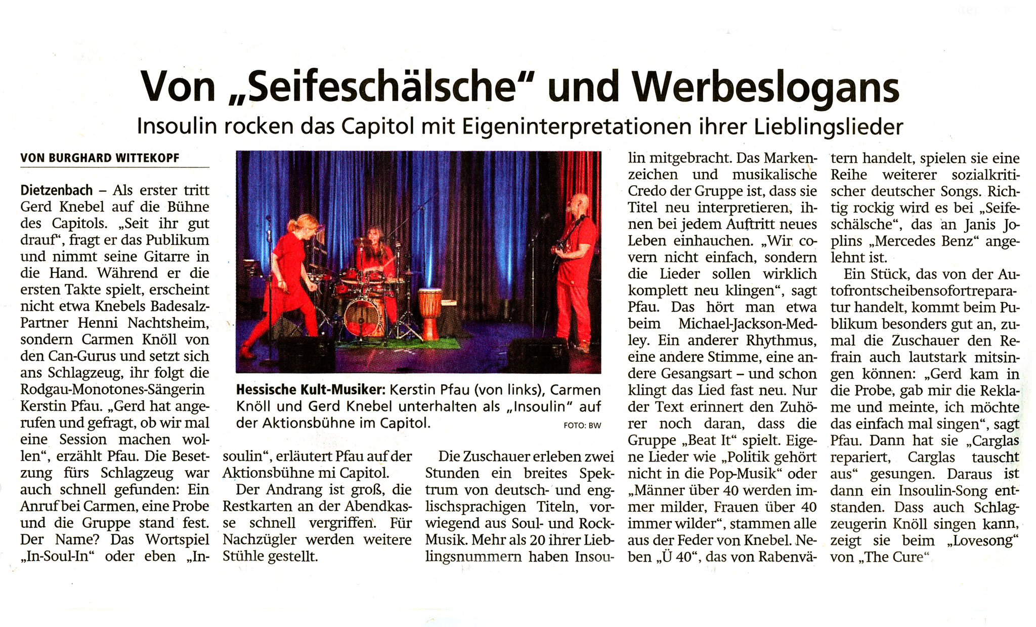 Offenbach Post, 1. April 2019