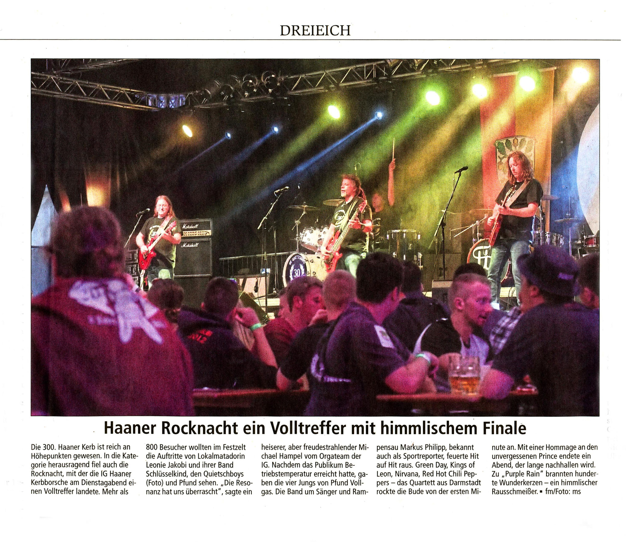 Offenbach Post, 24. Mai 2018