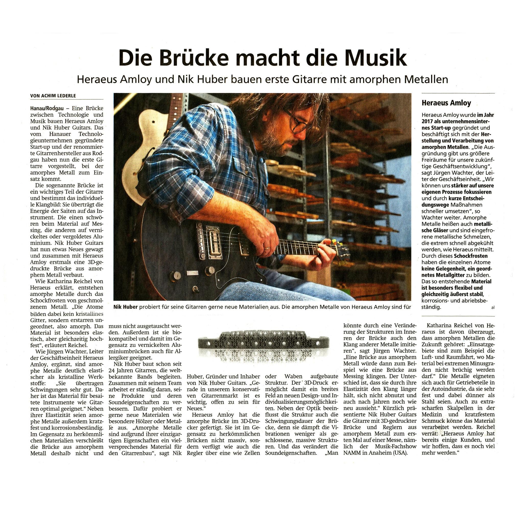 Offenbach Post, 20. Januar 2020