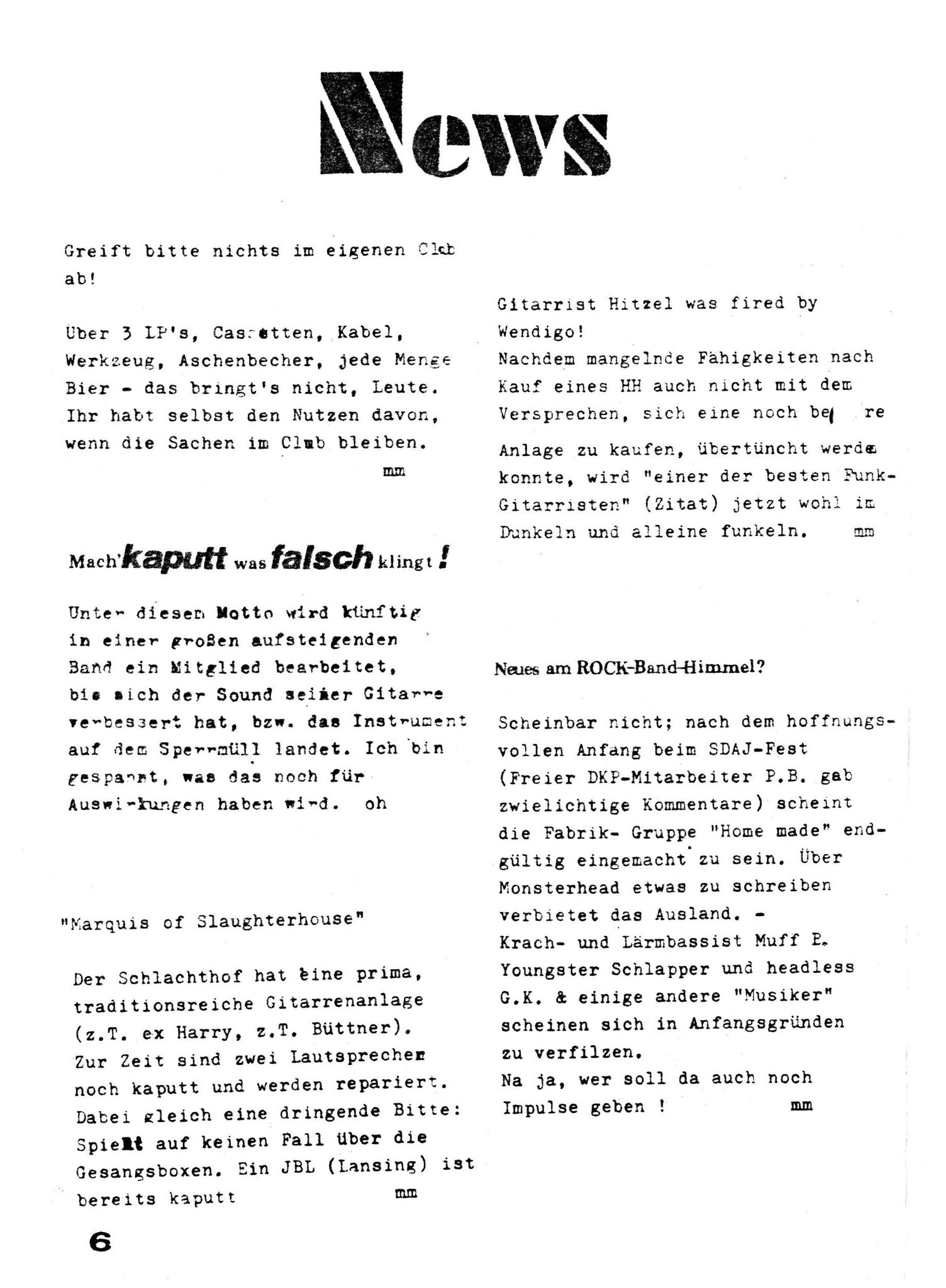 Brodel 6 - Seite 6