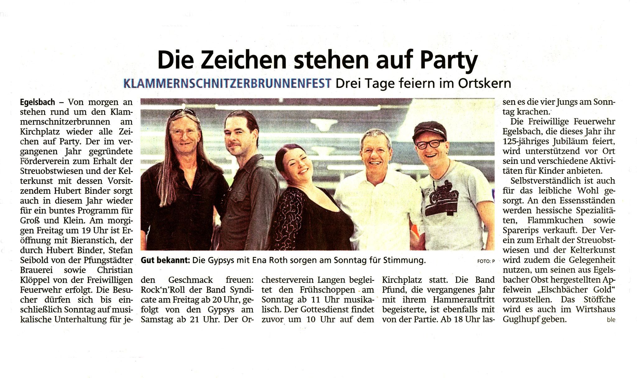Offenbach Post, 6. Juni 2019
