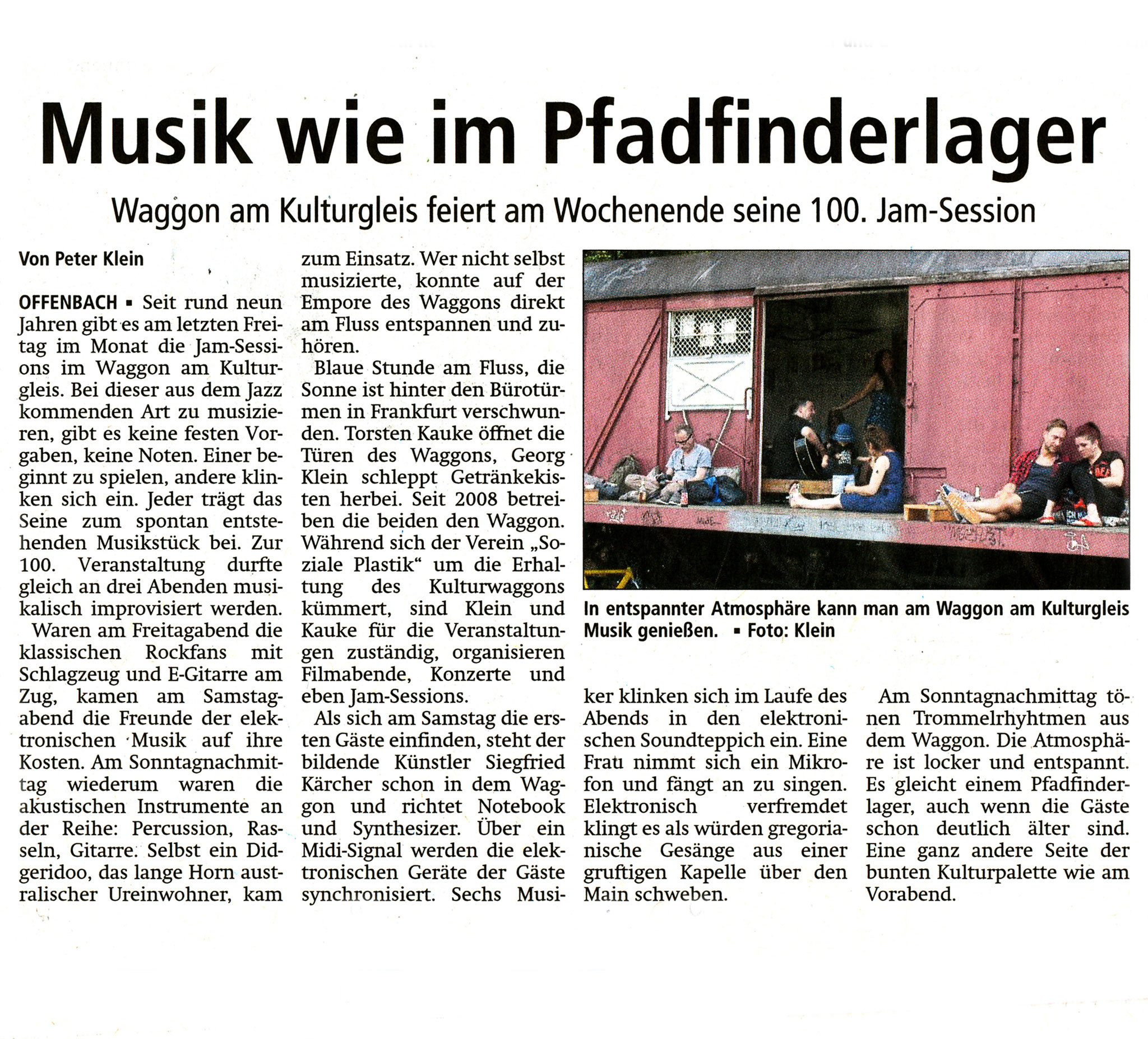 Offenbach Post, 1. August 2017