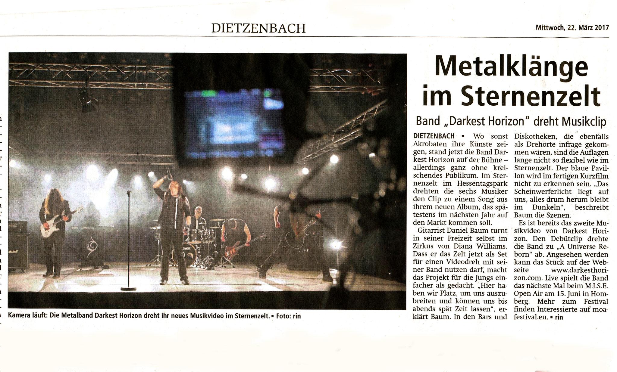 Offenbach Post, 22. März 2017