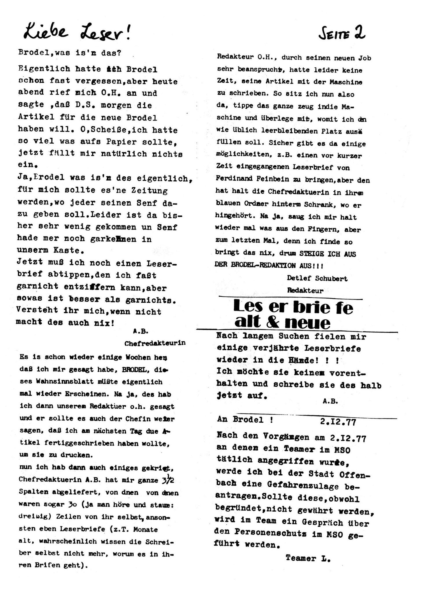 Brodel 1 - Seite  2