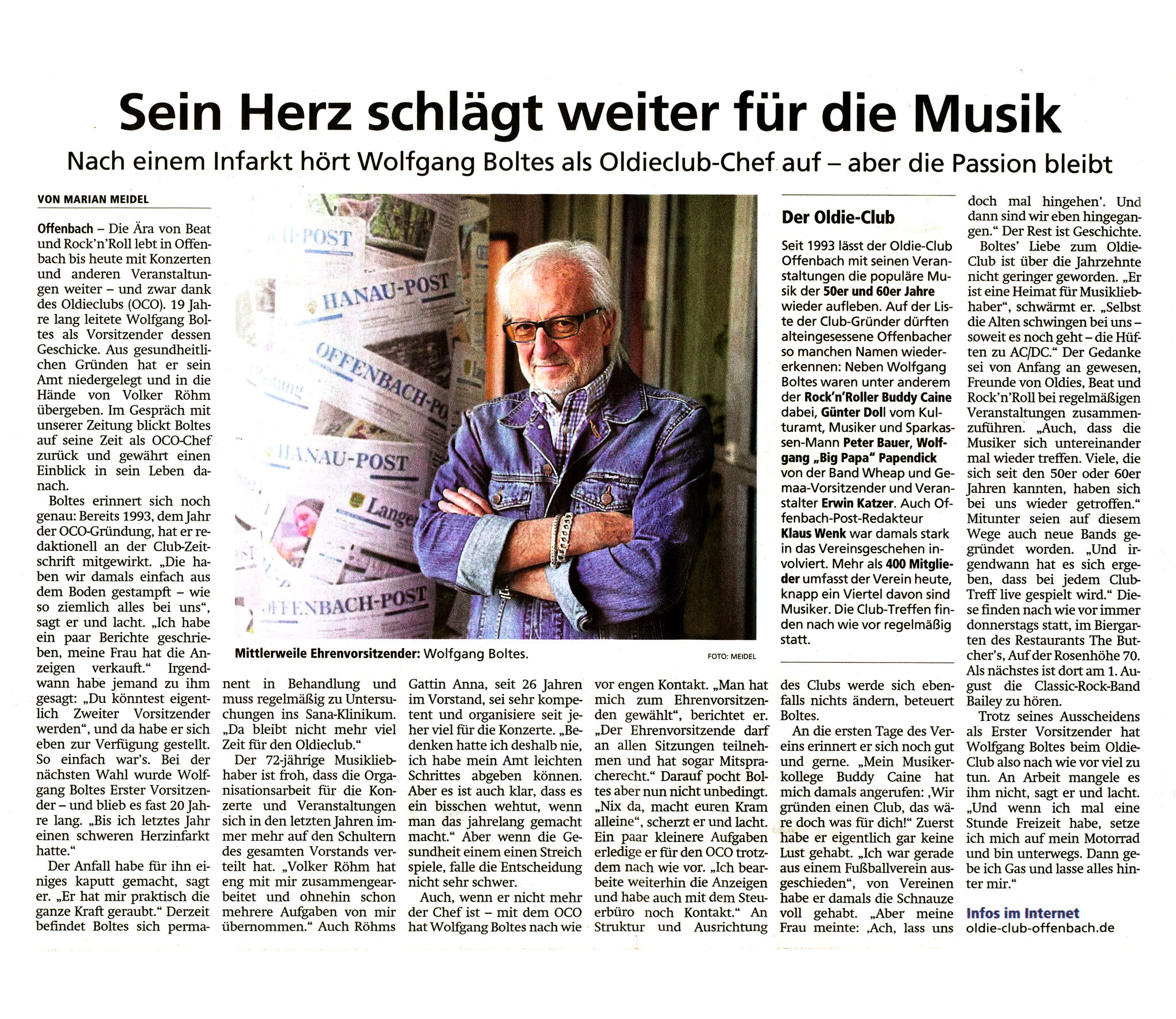 Offenbach Post, 26. Juli 2019